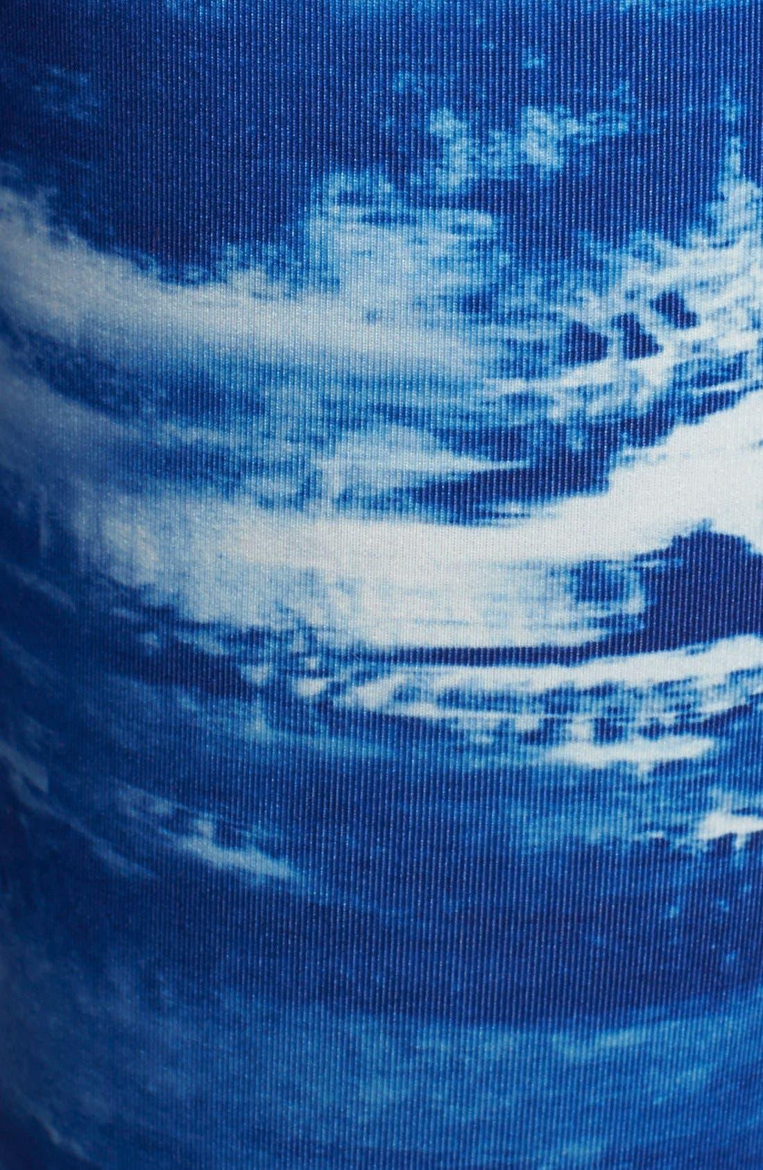 Alternate Image 4  - Under Armour 'Perfect' Print Capri Tights