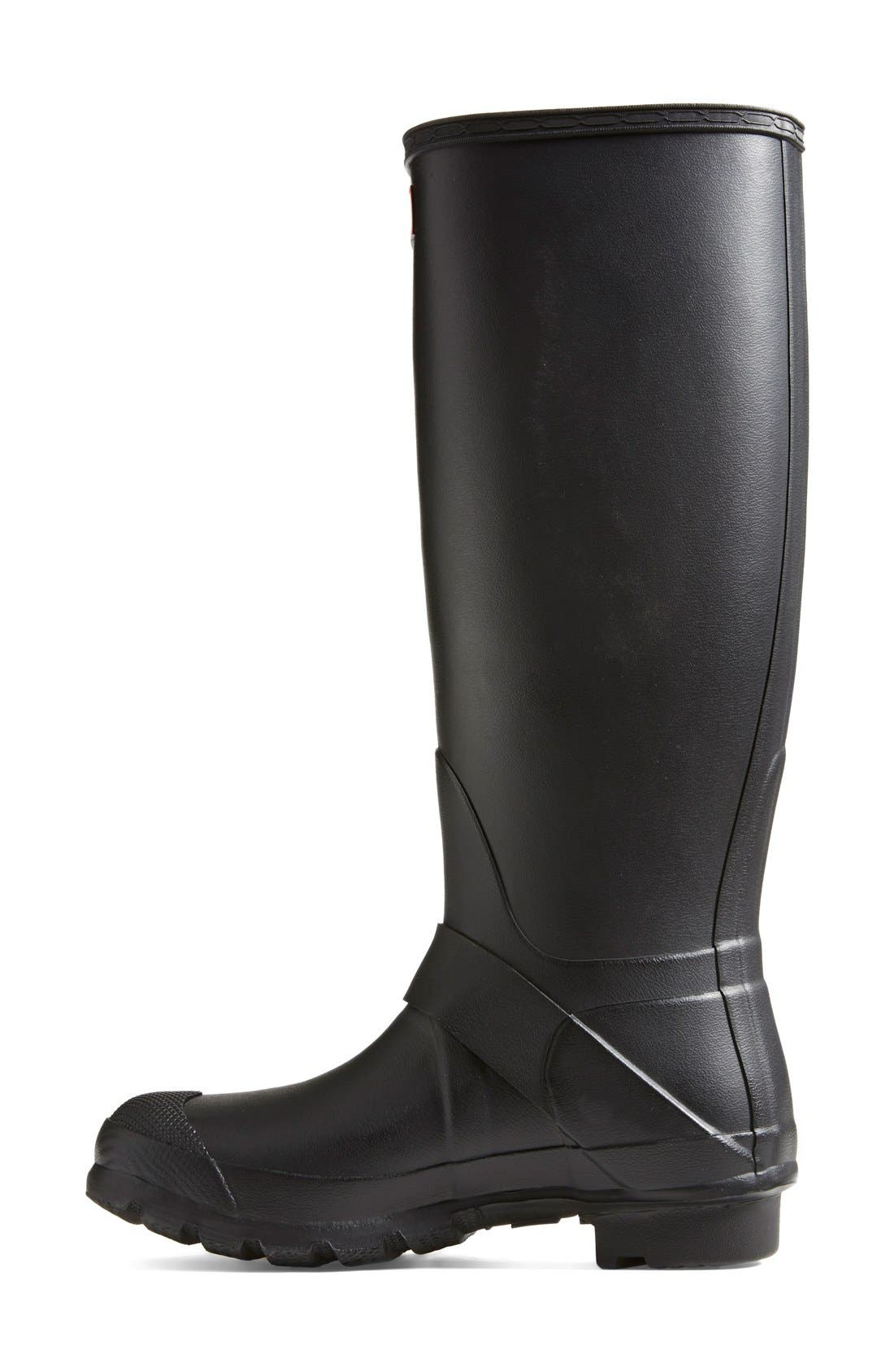 Alternate Image 5  - Hunter 'Tall Moto' Rain Boot (Nordstrom Exclusive) (Women)