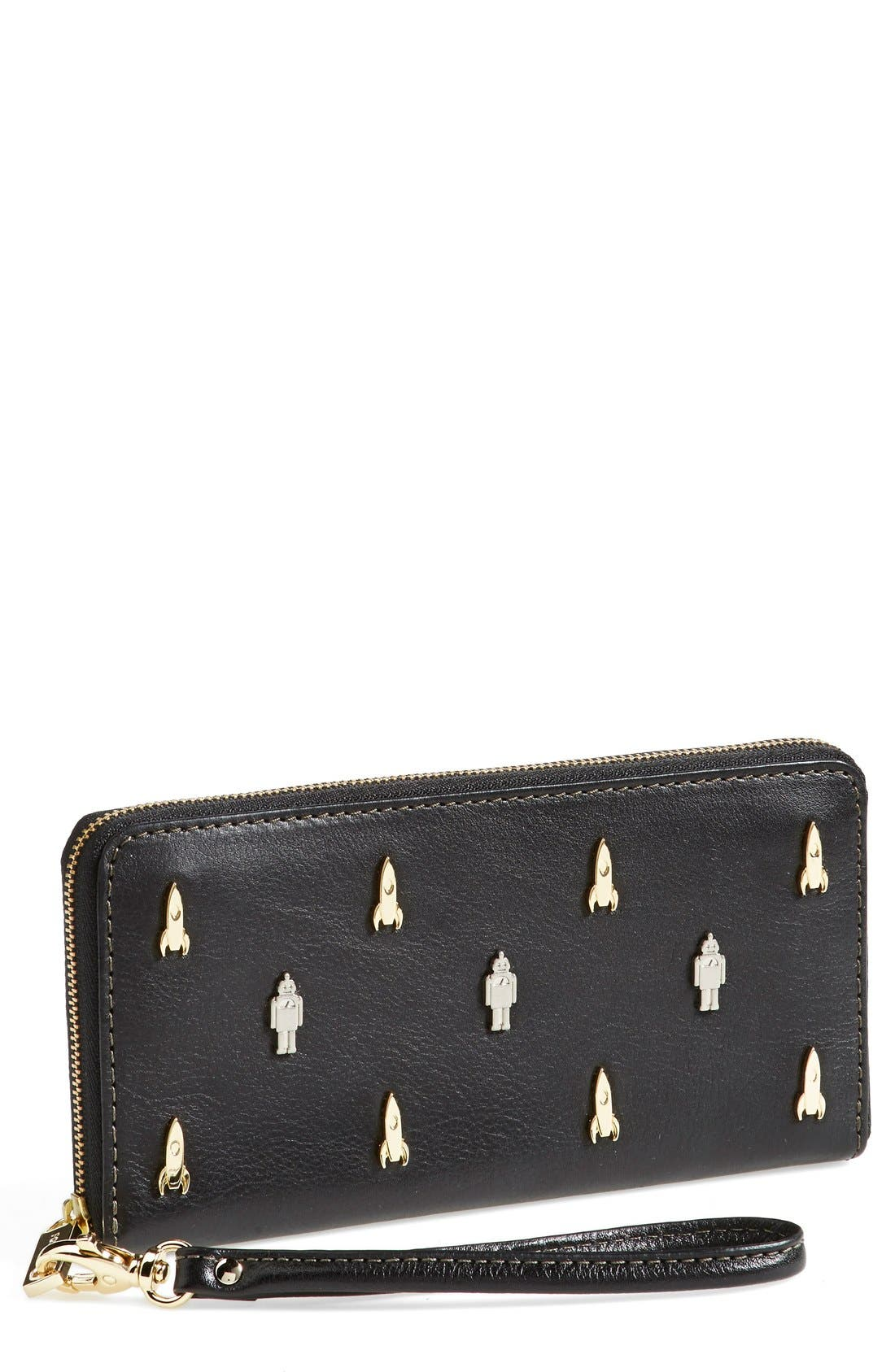 Alternate Image 1 Selected - Fossil Zip Clutch Wallet
