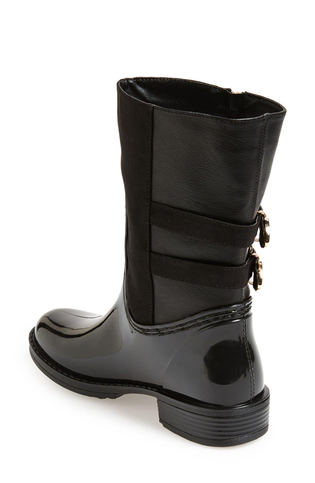 Alternate Image 2  - Posh Wellies 'Resilience' Mid Rain Boot (Women)