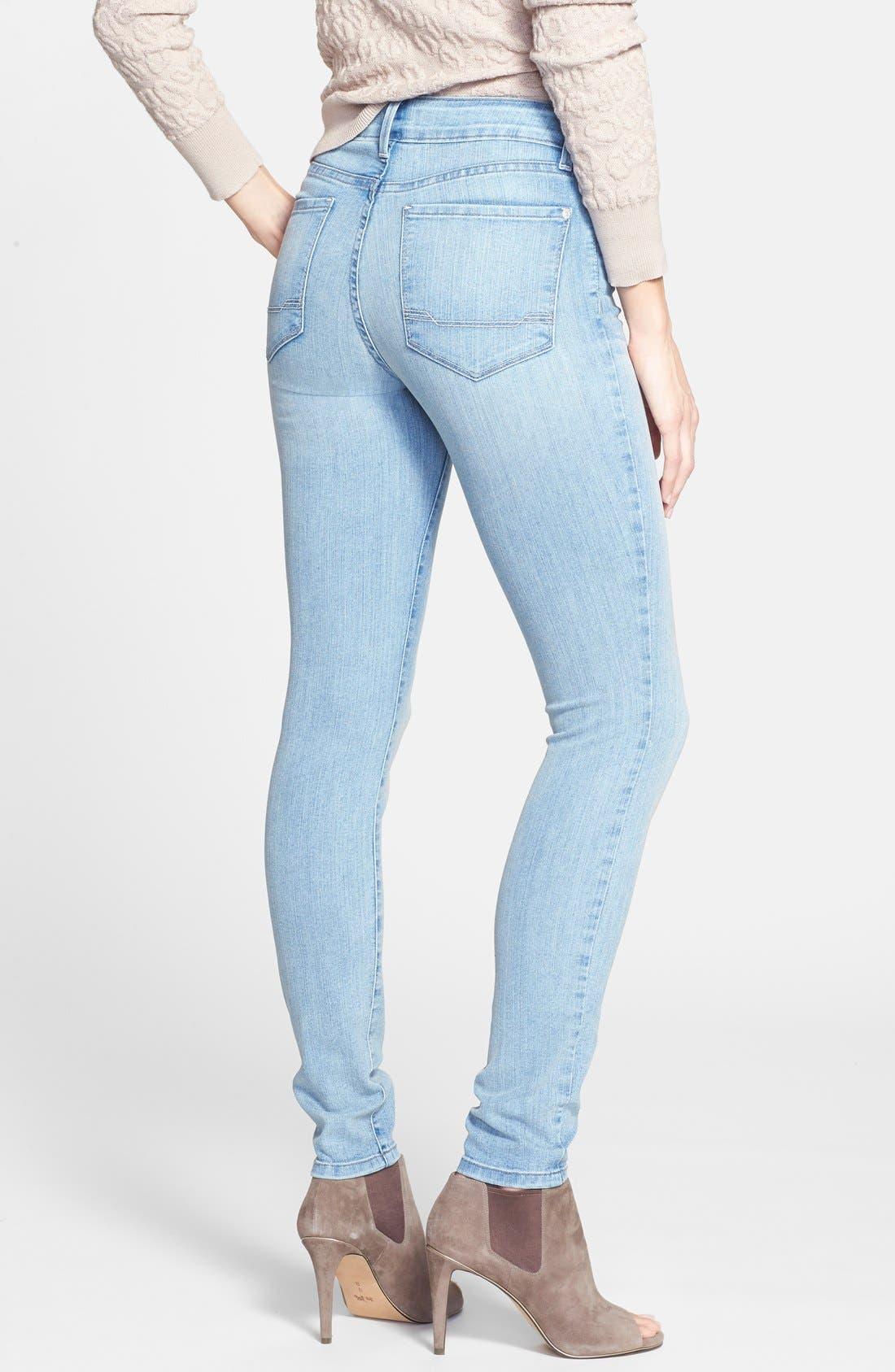 Alternate Image 2  - NYDJ 'Ami' Stretch Skinny Jeans (Manhattan Beach)
