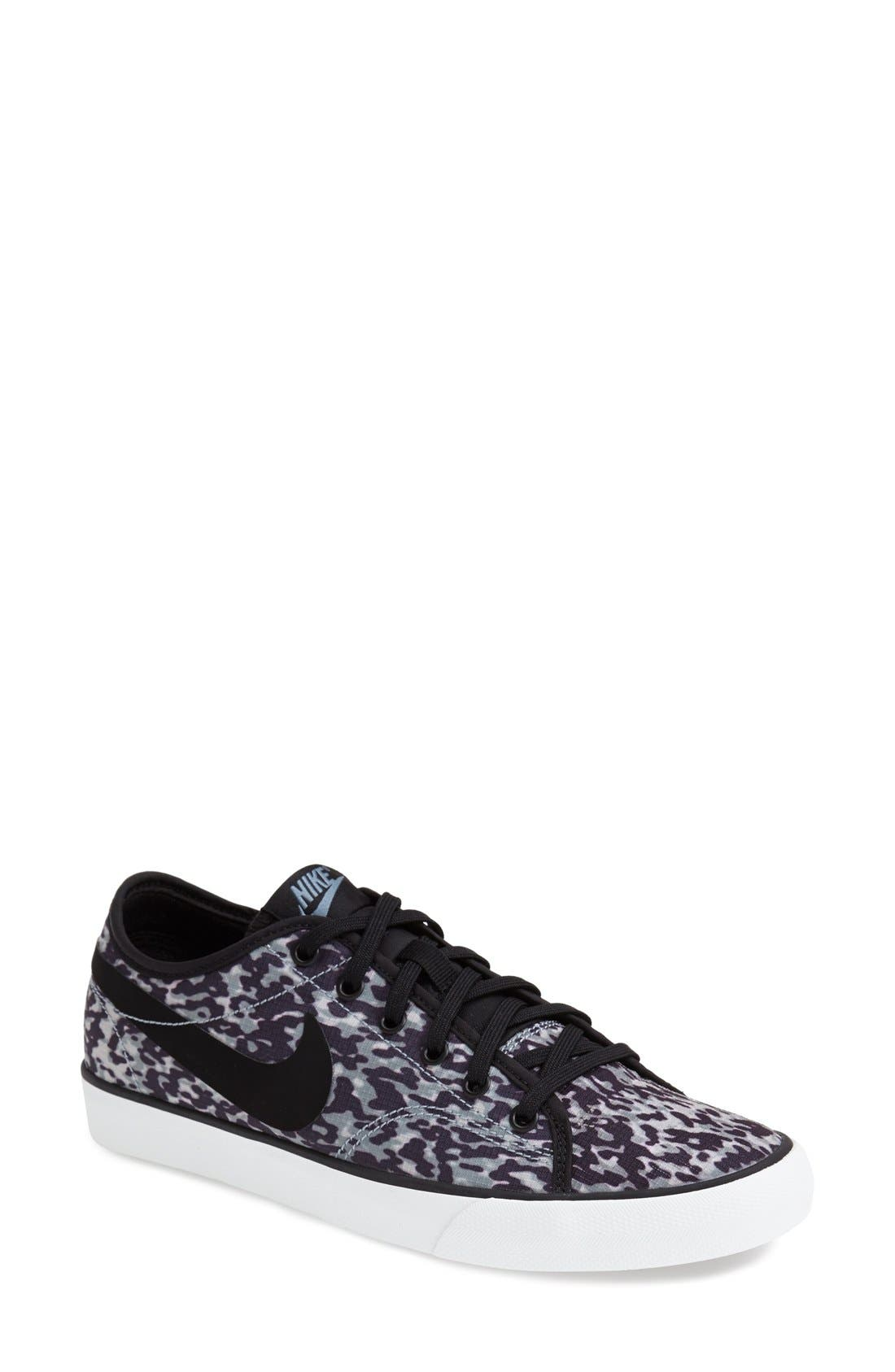 Alternate Image 1 Selected - Nike 'Primo - Court' Printed Canvas Sneaker (Women)