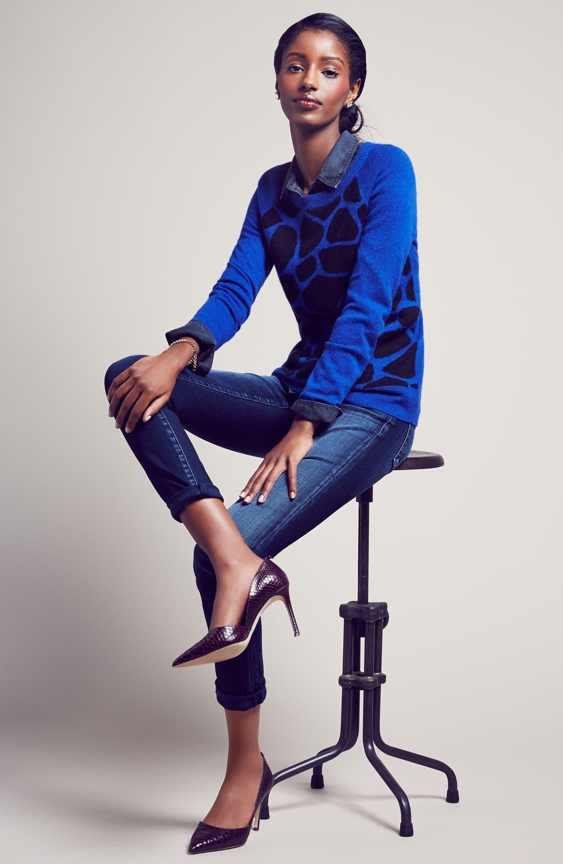 Alternate Image 5  - KUT from the Kloth 'Diana' Skinny Jeans (Breezy)