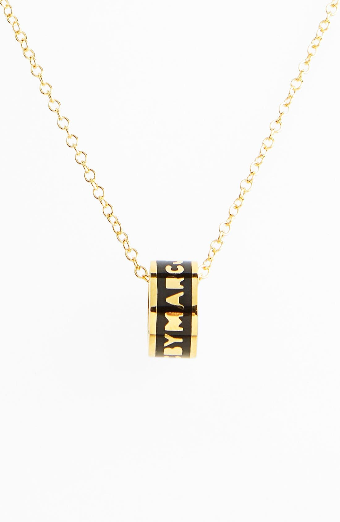 Main Image - MARC BY MARC JACOBS 'Classic Marc' Sweetie Pendant Necklace