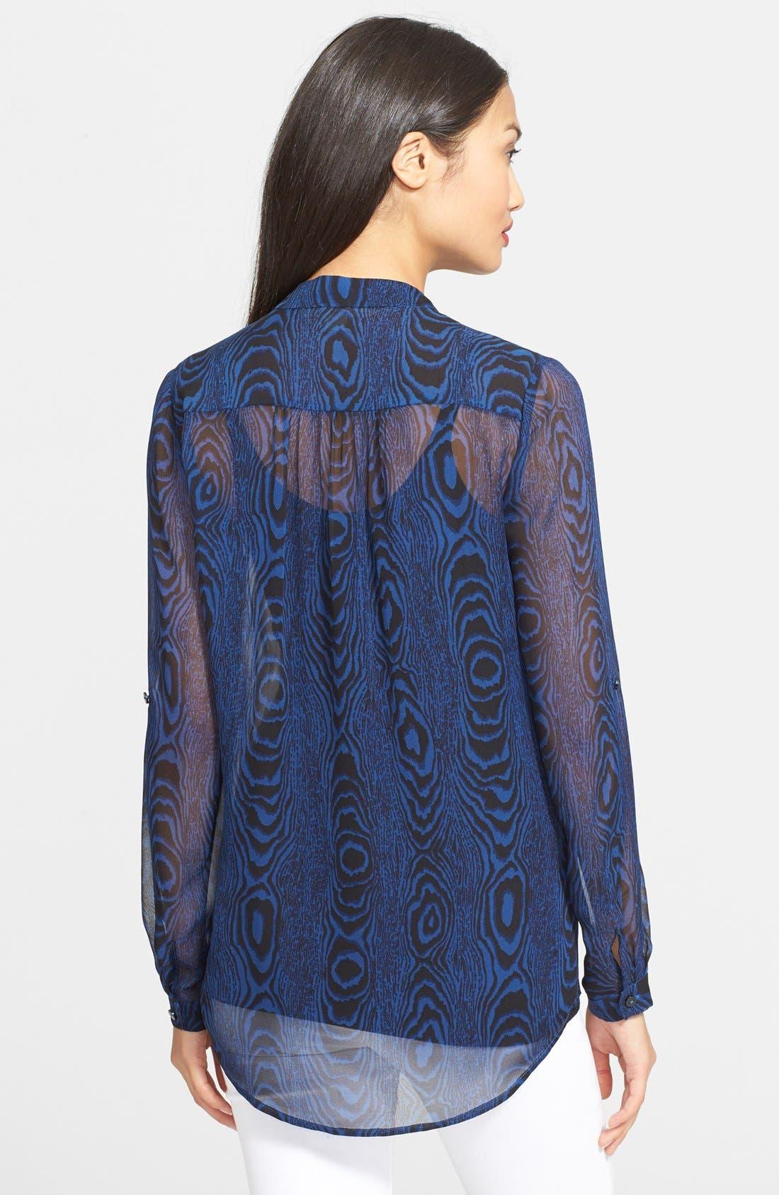 Alternate Image 2  - Diane von Furstenberg 'Gilmore' Print Silk Shirt
