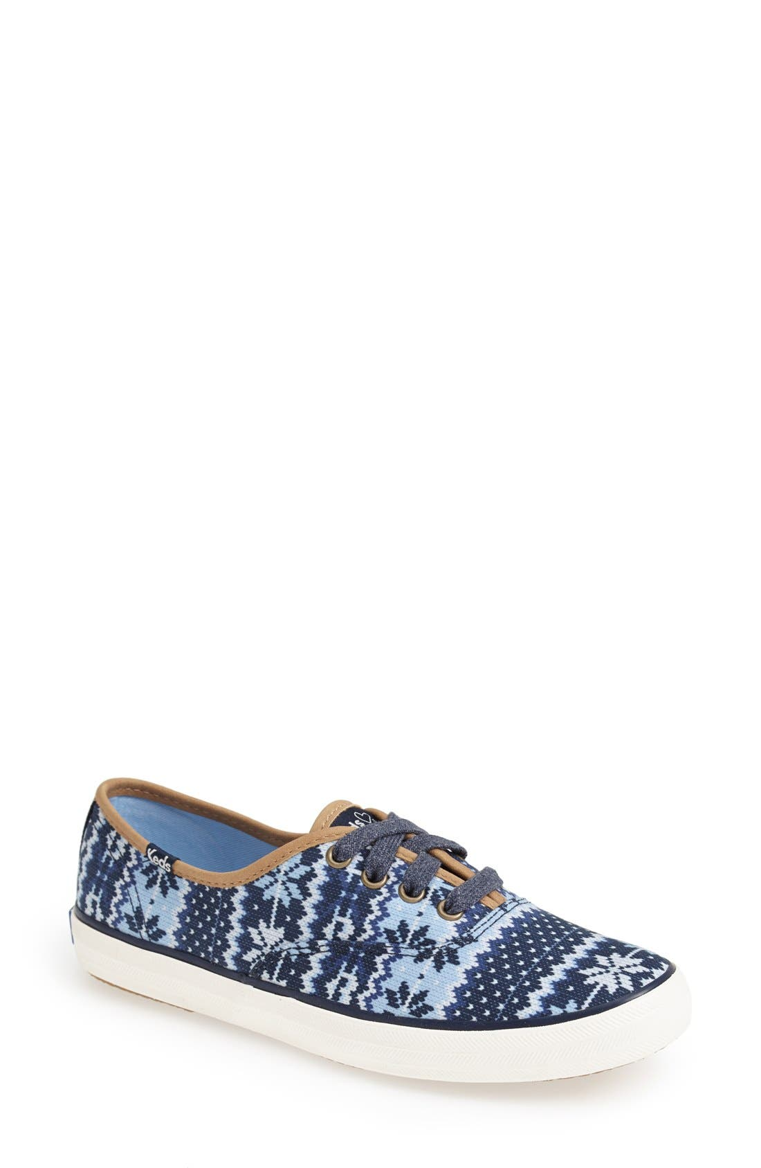 Alternate Image 1 Selected - Keds® Taylor Swift 'Champion - Fair Isle' Sneaker (Women)