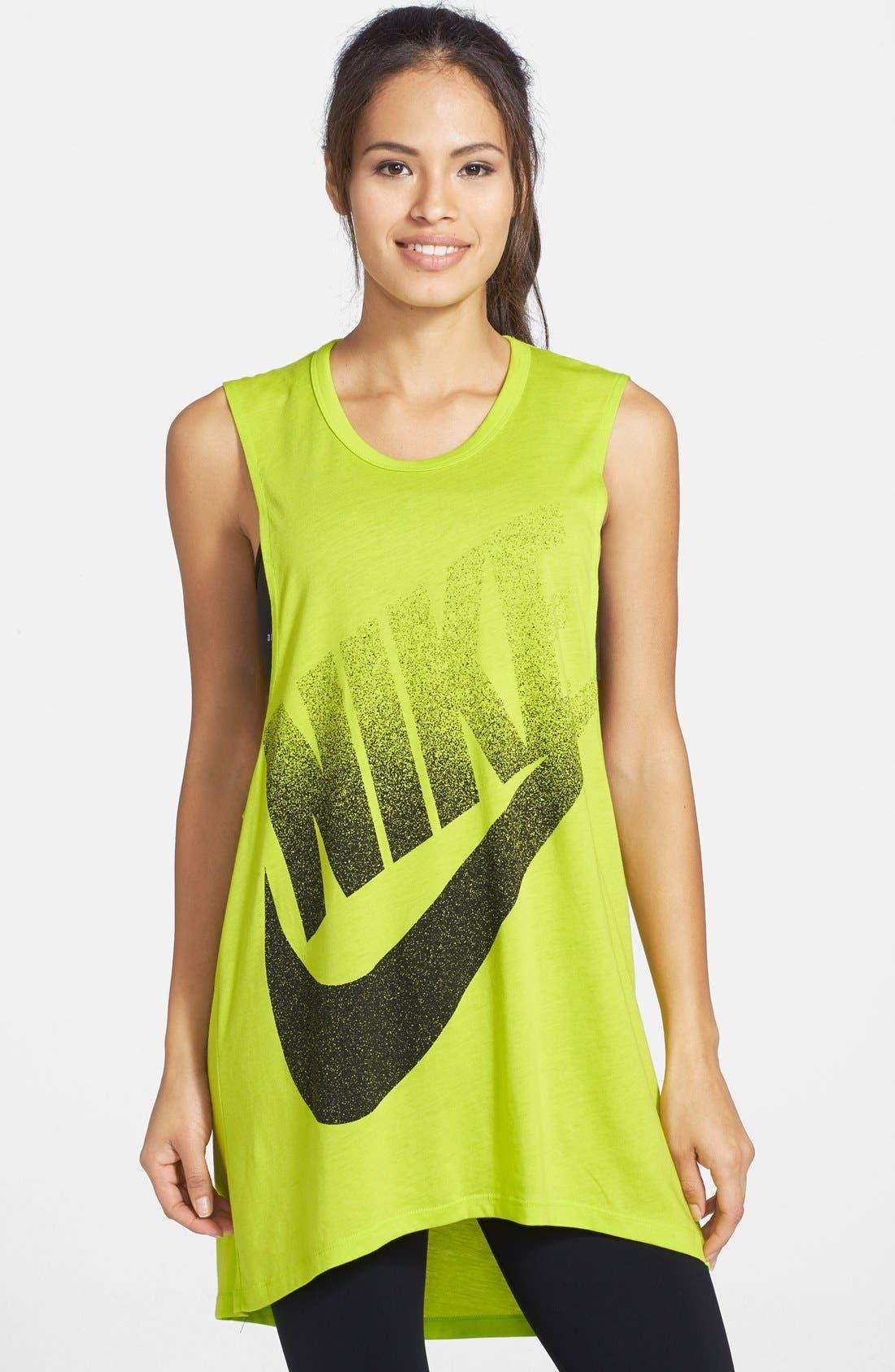 Alternate Image 1 Selected - Nike 'Signal' Muscle Dress
