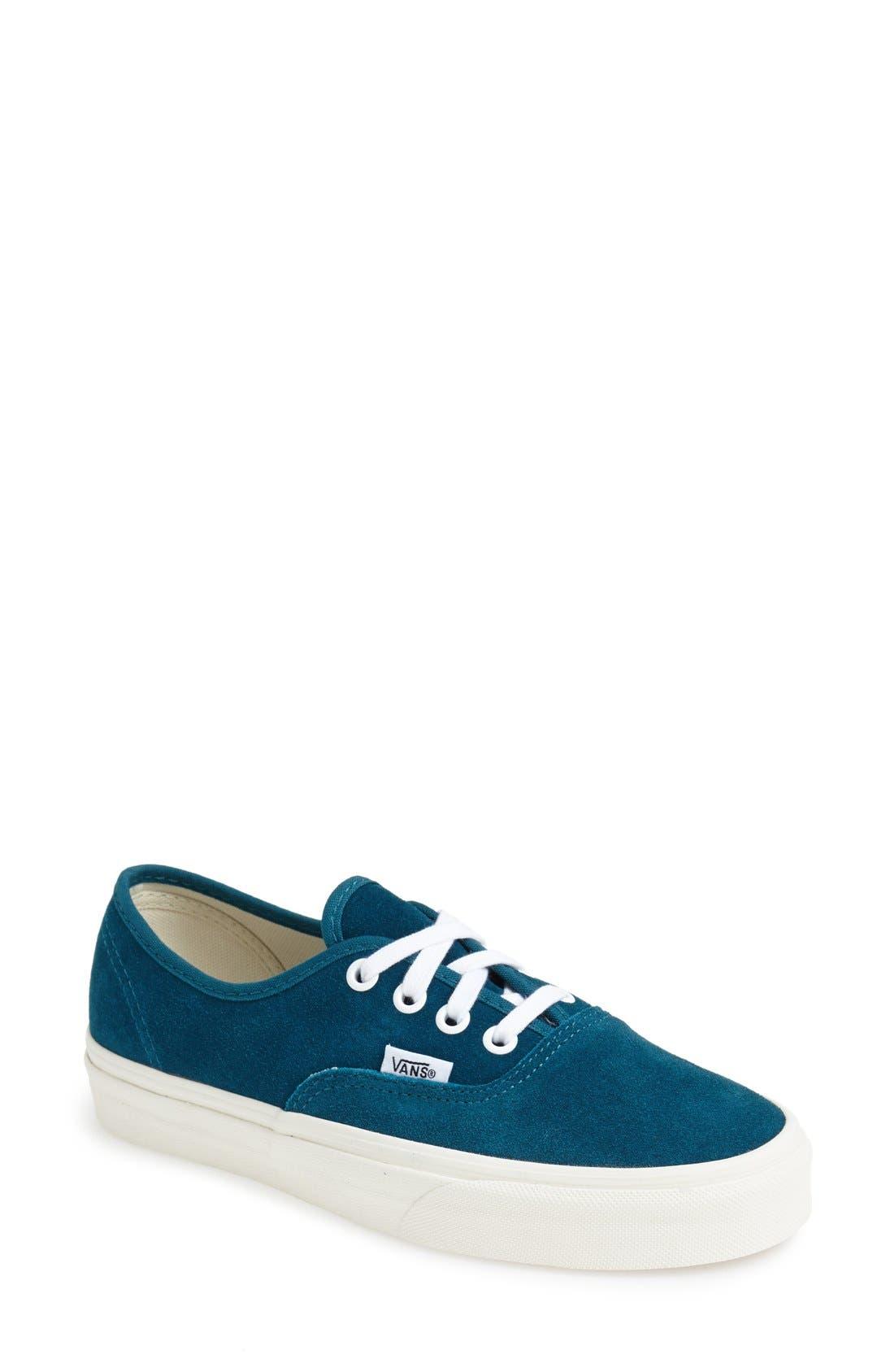 Alternate Image 1 Selected - Vans 'Vintage Suede Authentic' Sneaker (Women)