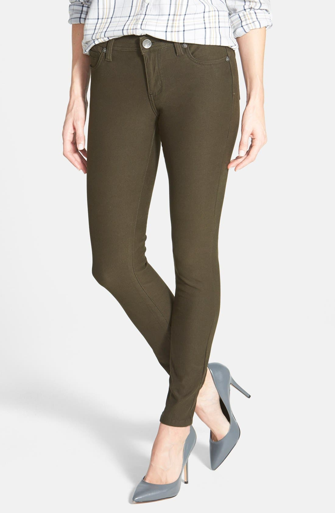 Alternate Image 1 Selected - KUT from the Kloth 'Mia' Colored Stretch Skinny Jeans