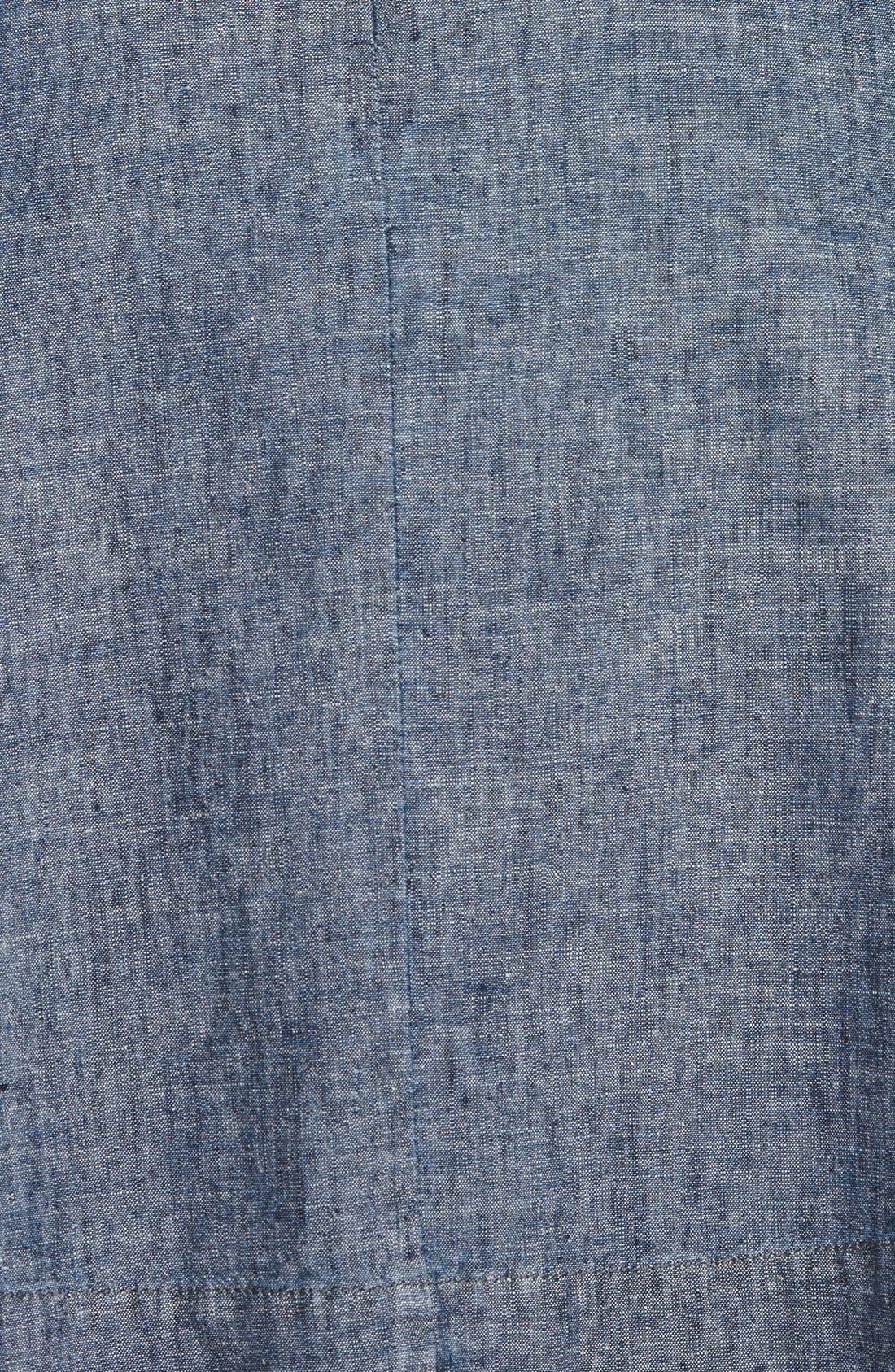 Alternate Image 3  - Eileen Fisher Hemp & Organic Cotton A-Line Skirt (Regular & Petite)