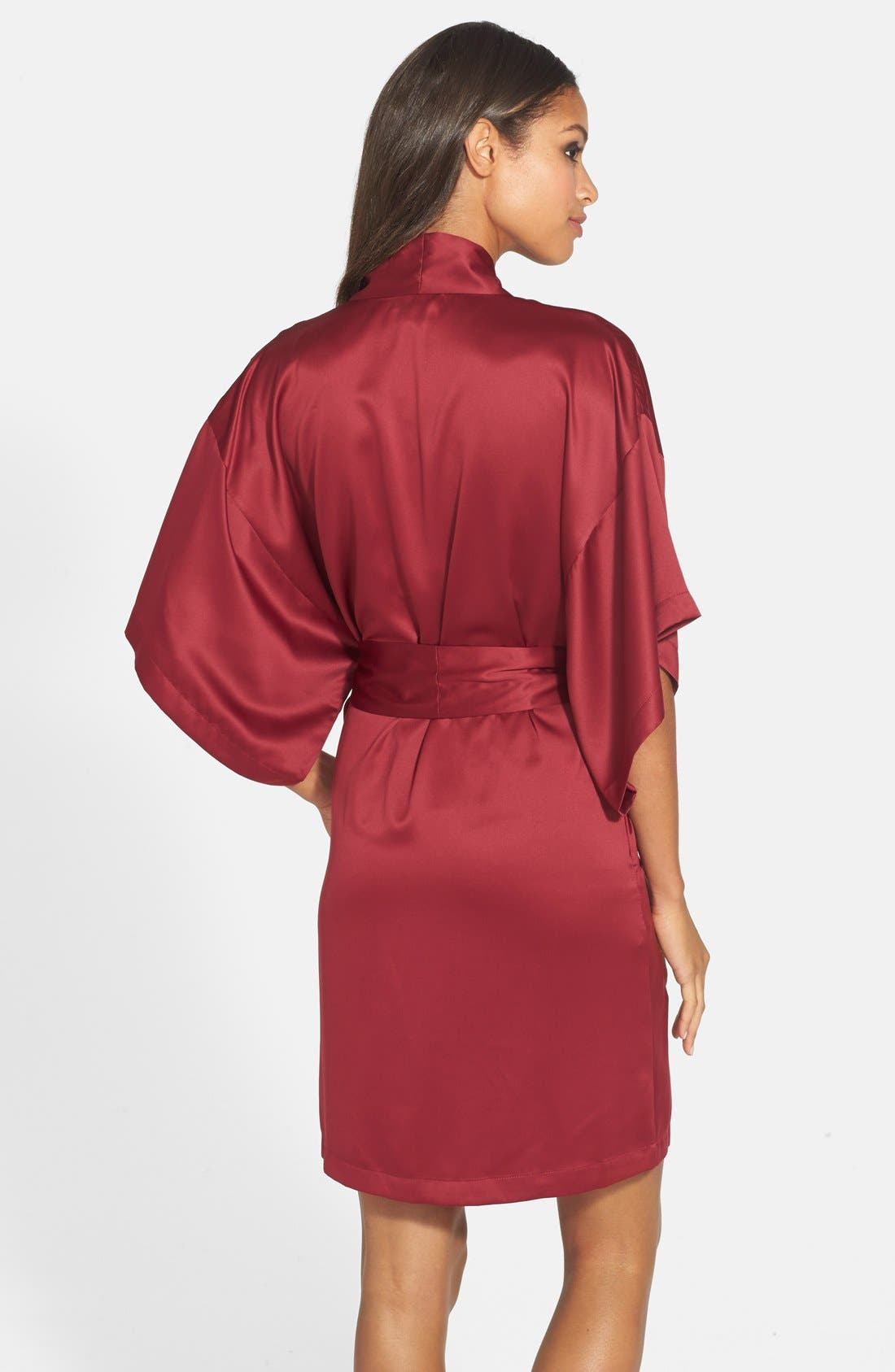 Alternate Image 2  - Natori Charmeuse Kimono Robe