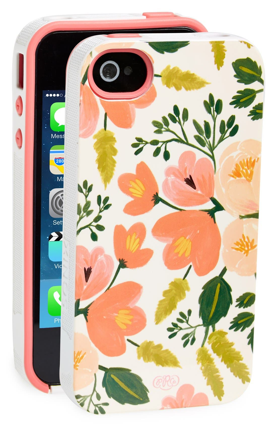 Alternate Image 1 Selected - Rifle Paper Co. 'Botanical Rose' iPhone 4 & 4s Case
