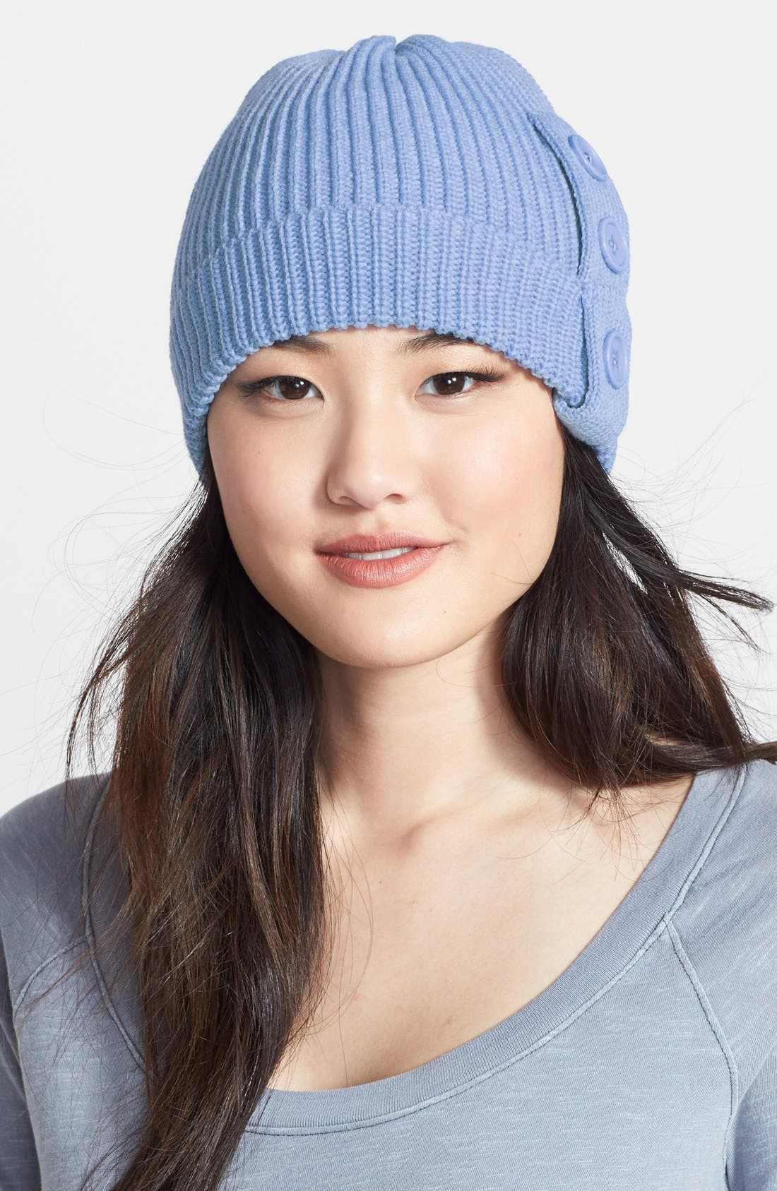 Main Image - Phase 3 Stripe Button Beanie