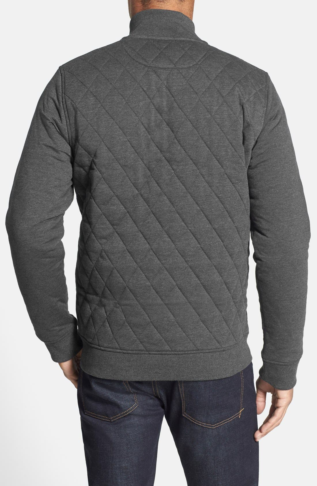 Alternate Image 2  - Ted Baker London 'QUILTIN' Quilted Full Zip Jacket