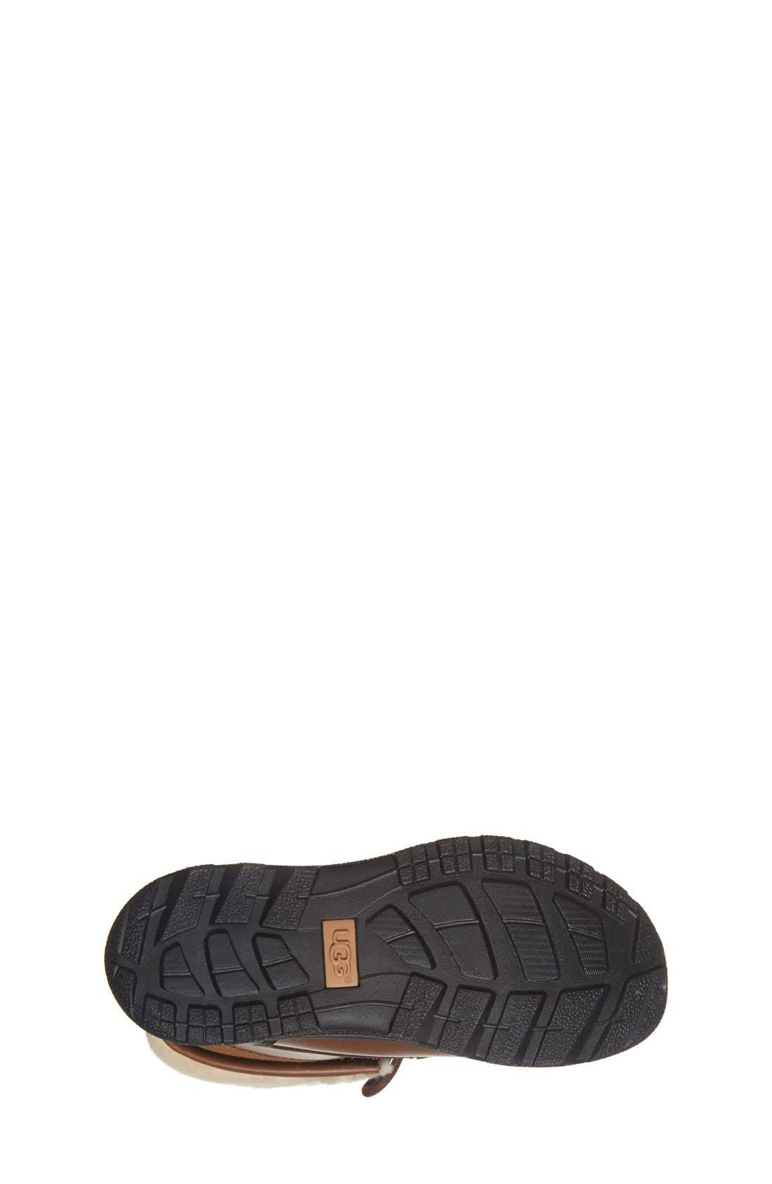 Alternate Image 4  - UGG® 'Butte II' Waterproof Leather Boot (Little Kid & Big Kid)