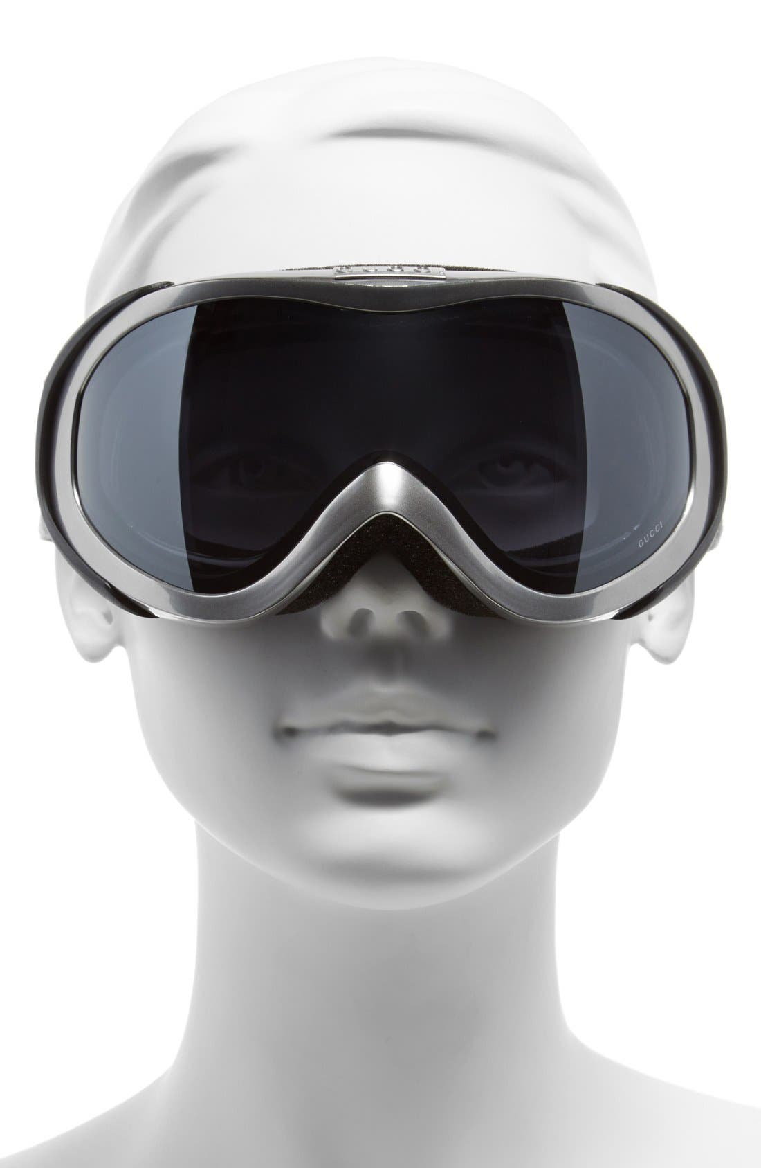 Ski Goggles,                             Alternate thumbnail 2, color,                             Silver