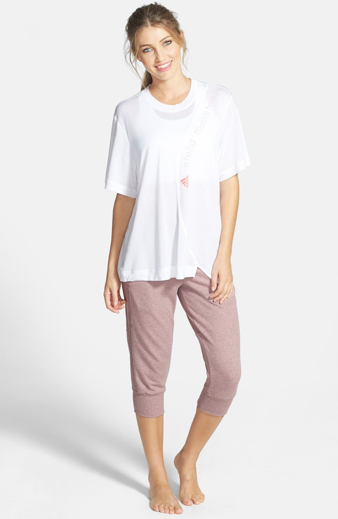 Alternate Image 3  - adidas by Stella McCartney 'Essentials' Capris Sweatpants