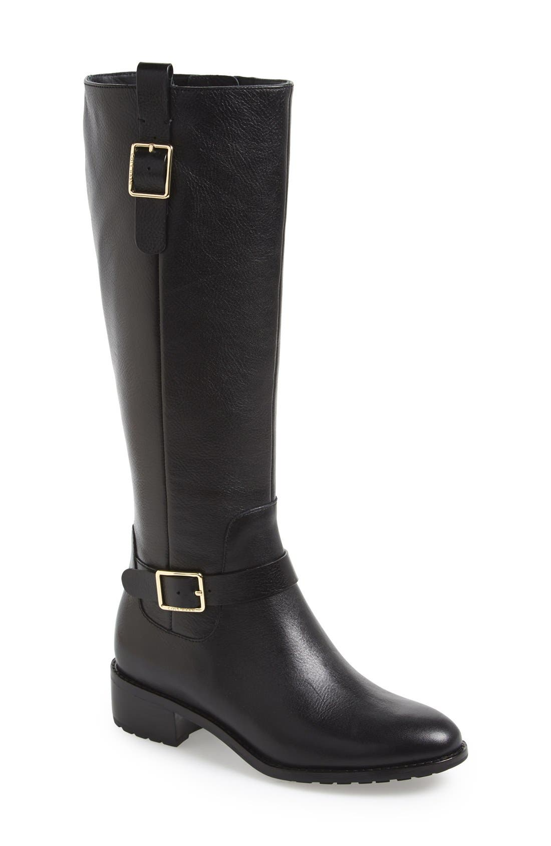 Alternate Image 1 Selected - Cole Haan 'Kenmare' Riding Boot (Women)