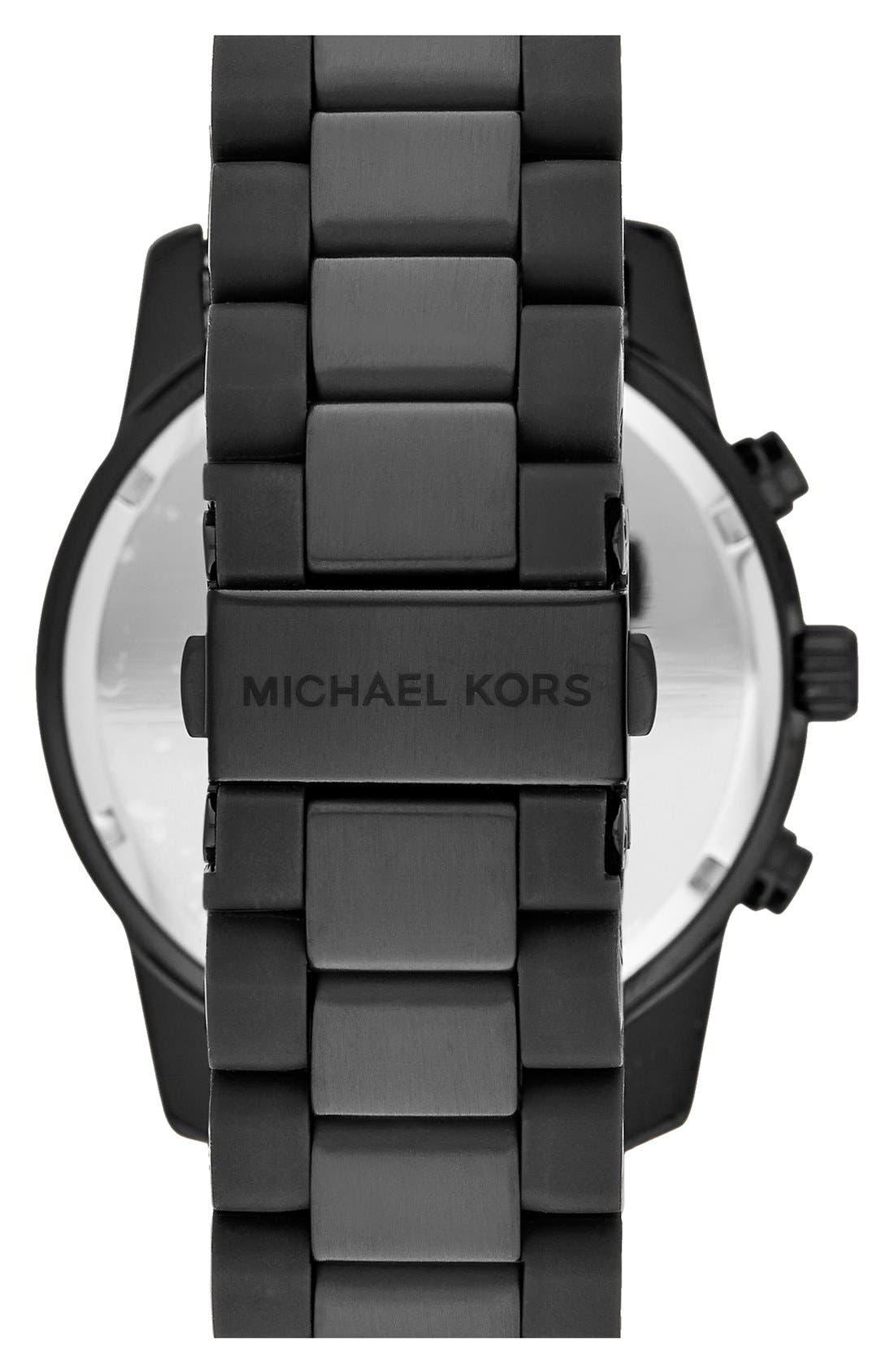 Alternate Image 2  - Michael Kors 'Mercer' Chronograph Bracelet Watch, 45mm