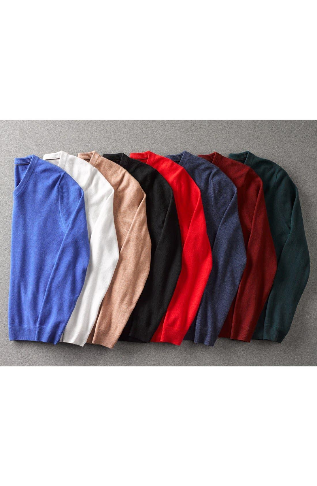 Alternate Image 5  - John W. Nordstrom® V-Neck Cashmere Sweater