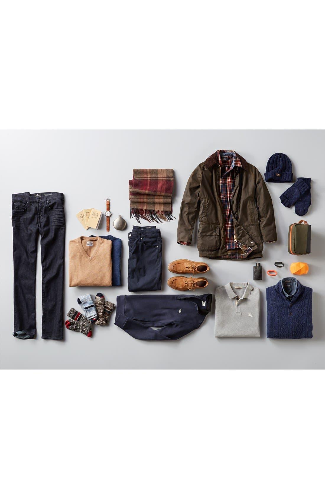 Alternate Image 6  - John W. Nordstrom® V-Neck Cashmere Sweater