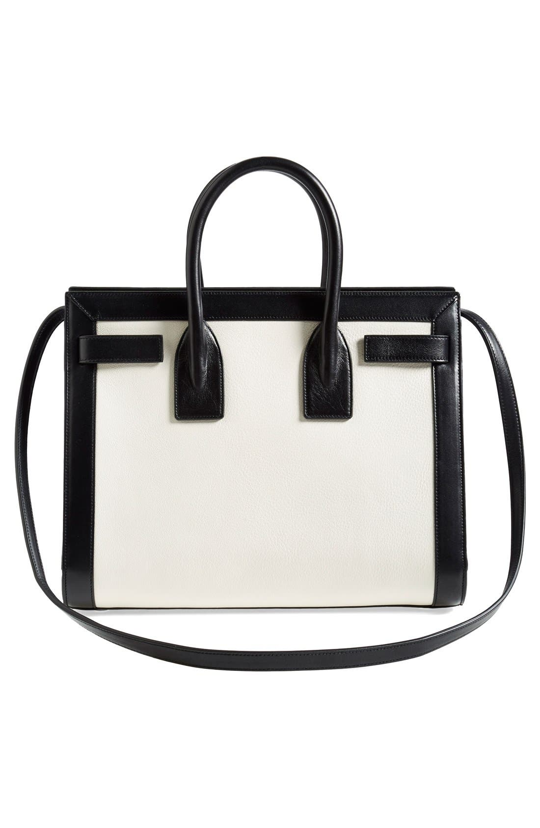 Alternate Image 6  - Saint Laurent 'Small Sac de Jour' Colorblock Leather Tote