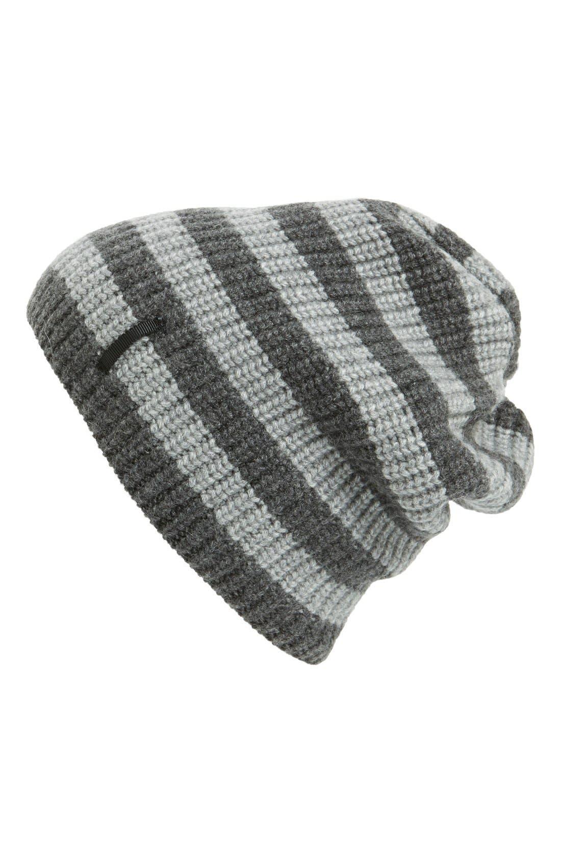Main Image - rag & bone 'Carson Stripe' Cashmere Beanie