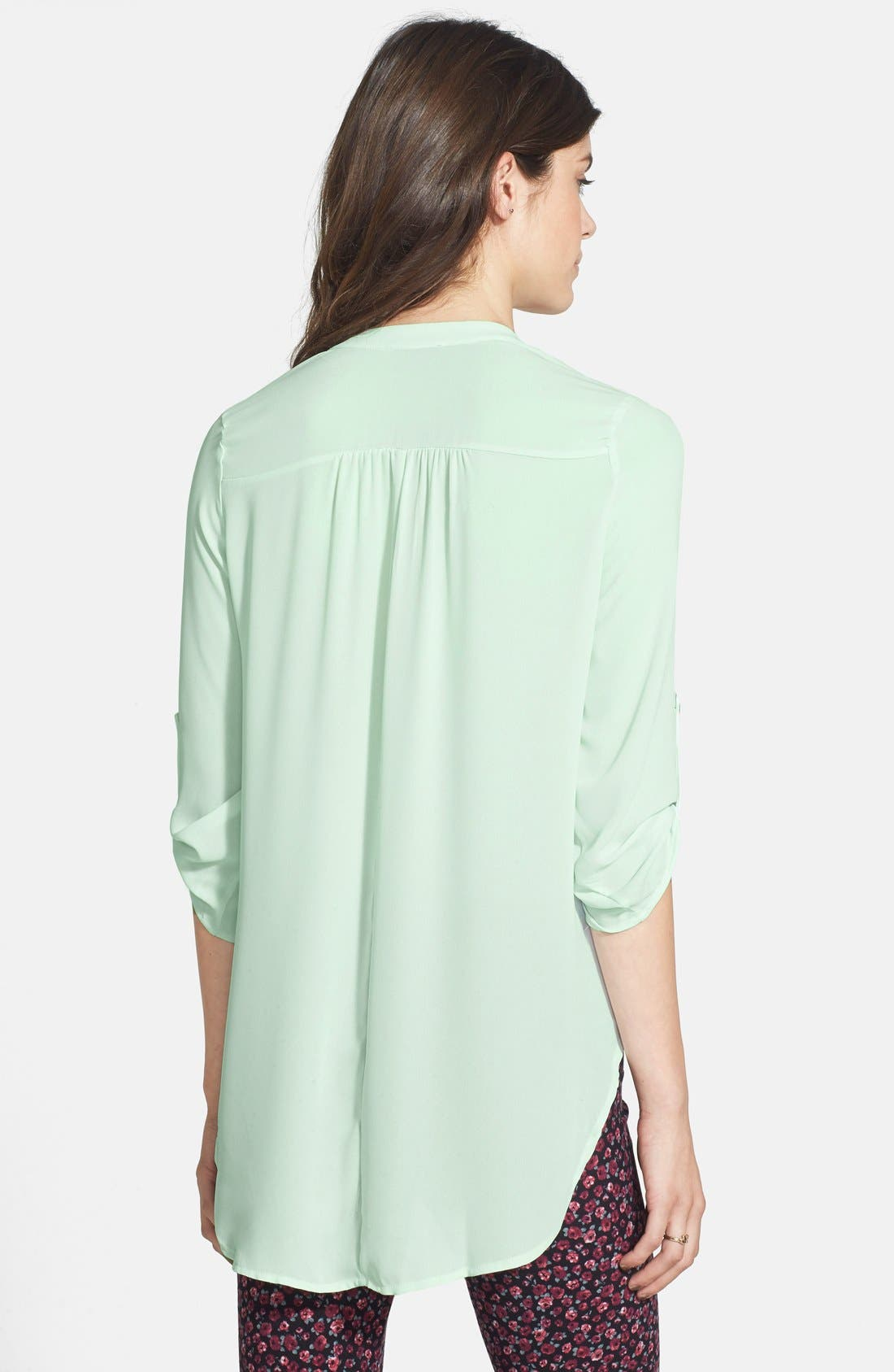 Alternate Image 2  - Lush 'Perfect' Tunic Henley (Juniors)