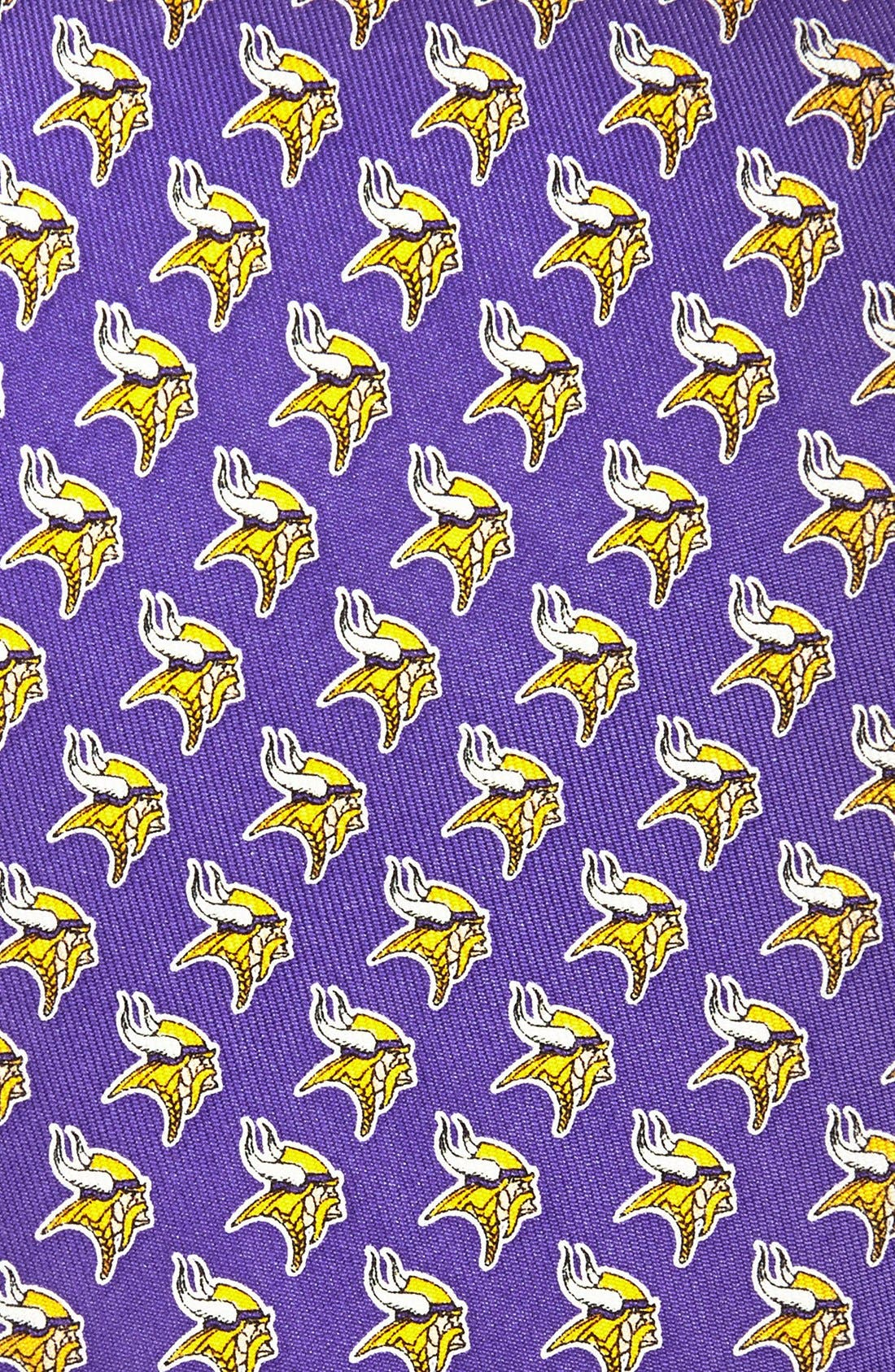 Alternate Image 2  - vineyard vines Minnesota Vikings - NFL Woven Silk Tie