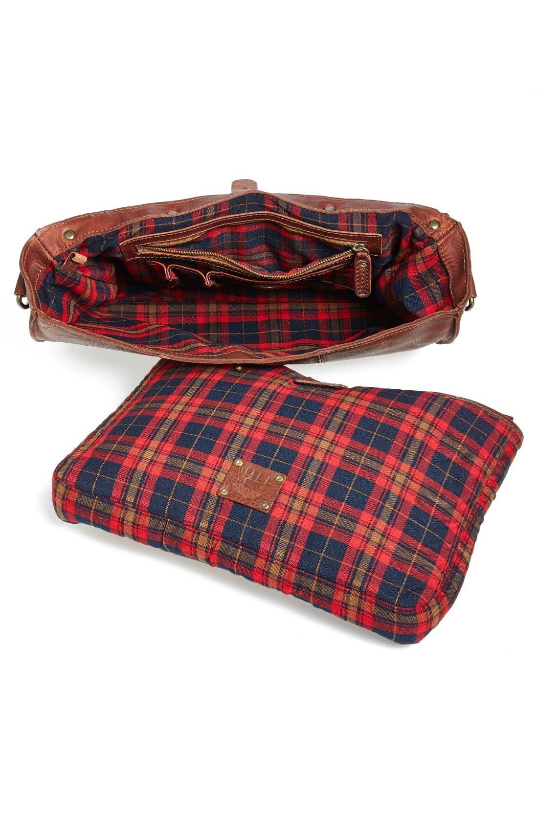 Alternate Image 4  - Will Leather Goods 'Kent' Messenger Bag