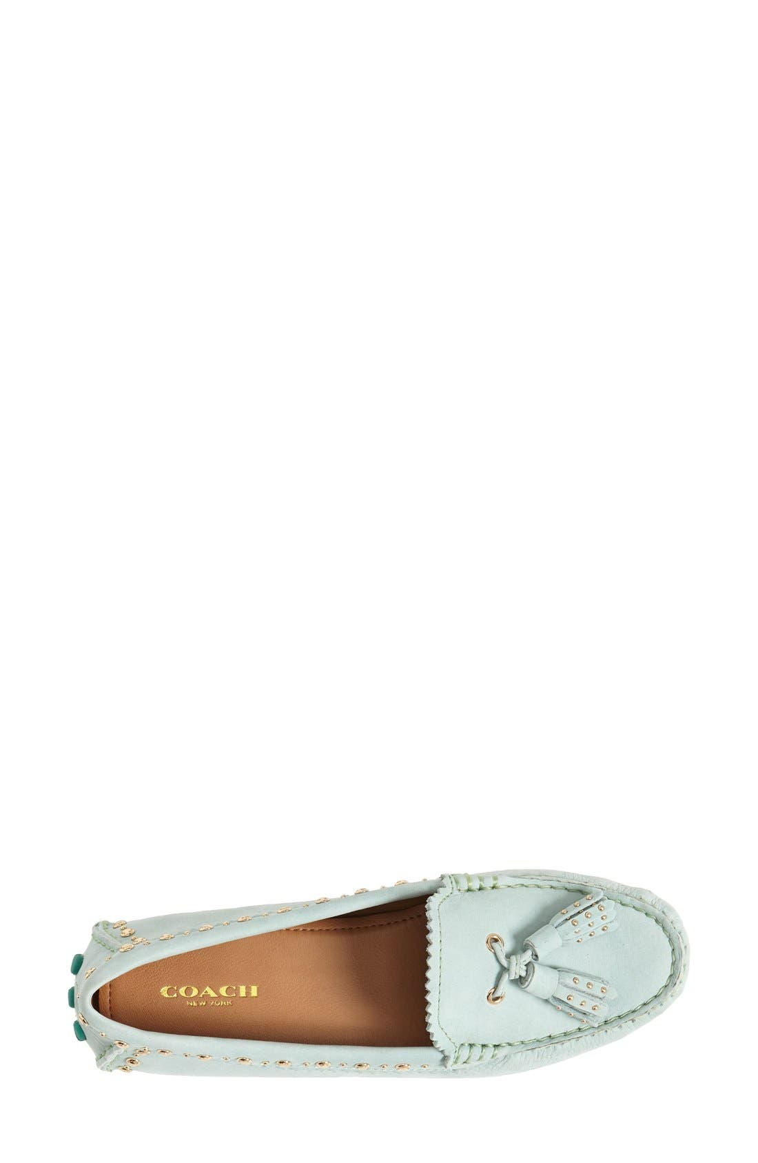 Alternate Image 3  - COACH 'Norfolk' Leather Driving Loafer (Women)