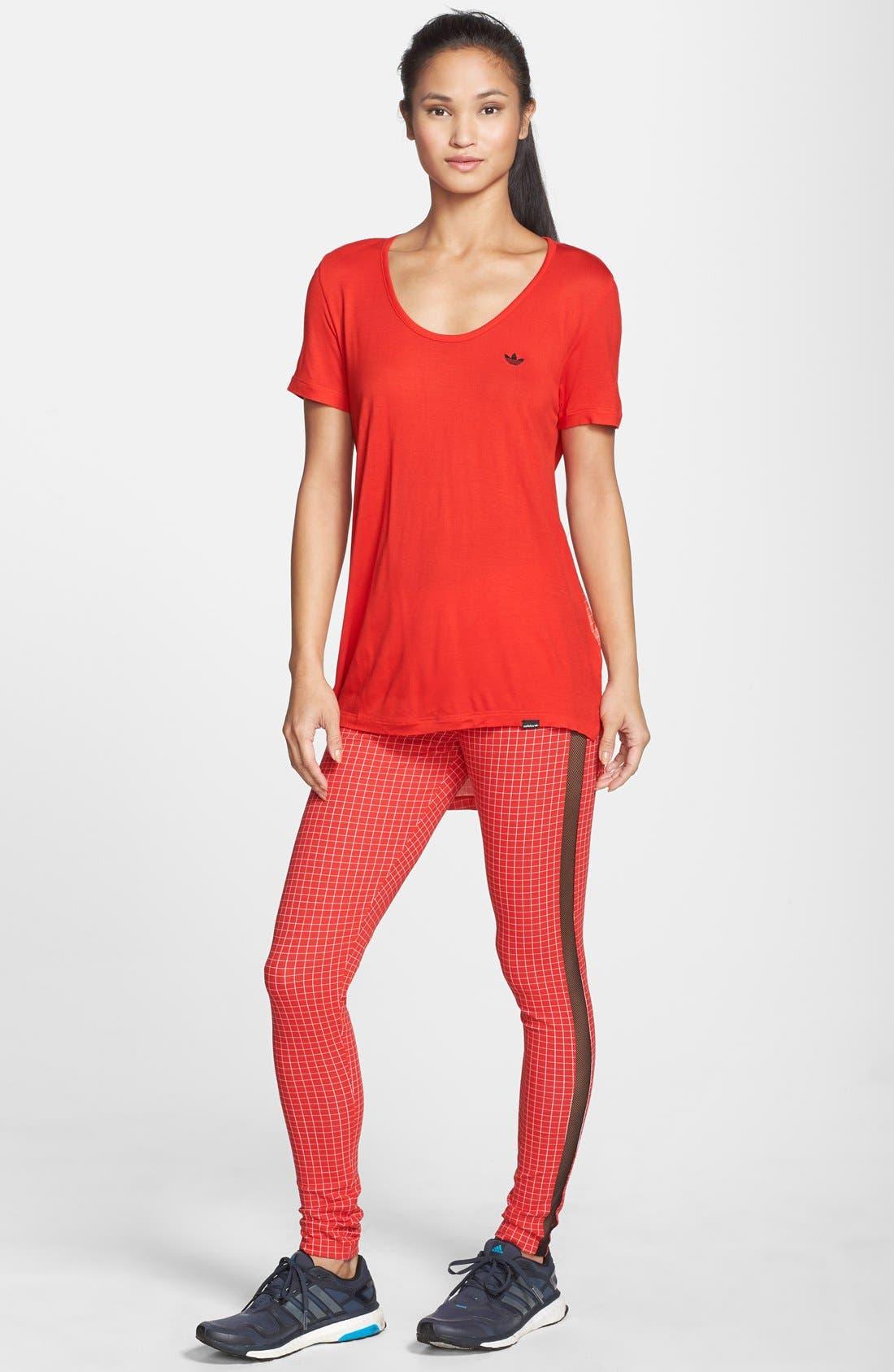 Alternate Image 3  - adidas 'Modern Tartan' Leggings