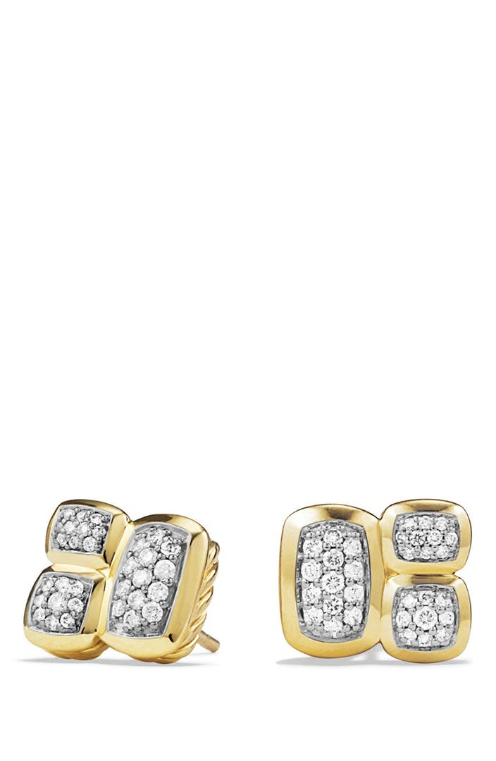 david yurman earrings nordstrom david yurman confetti stud earrings with diamonds in 4192