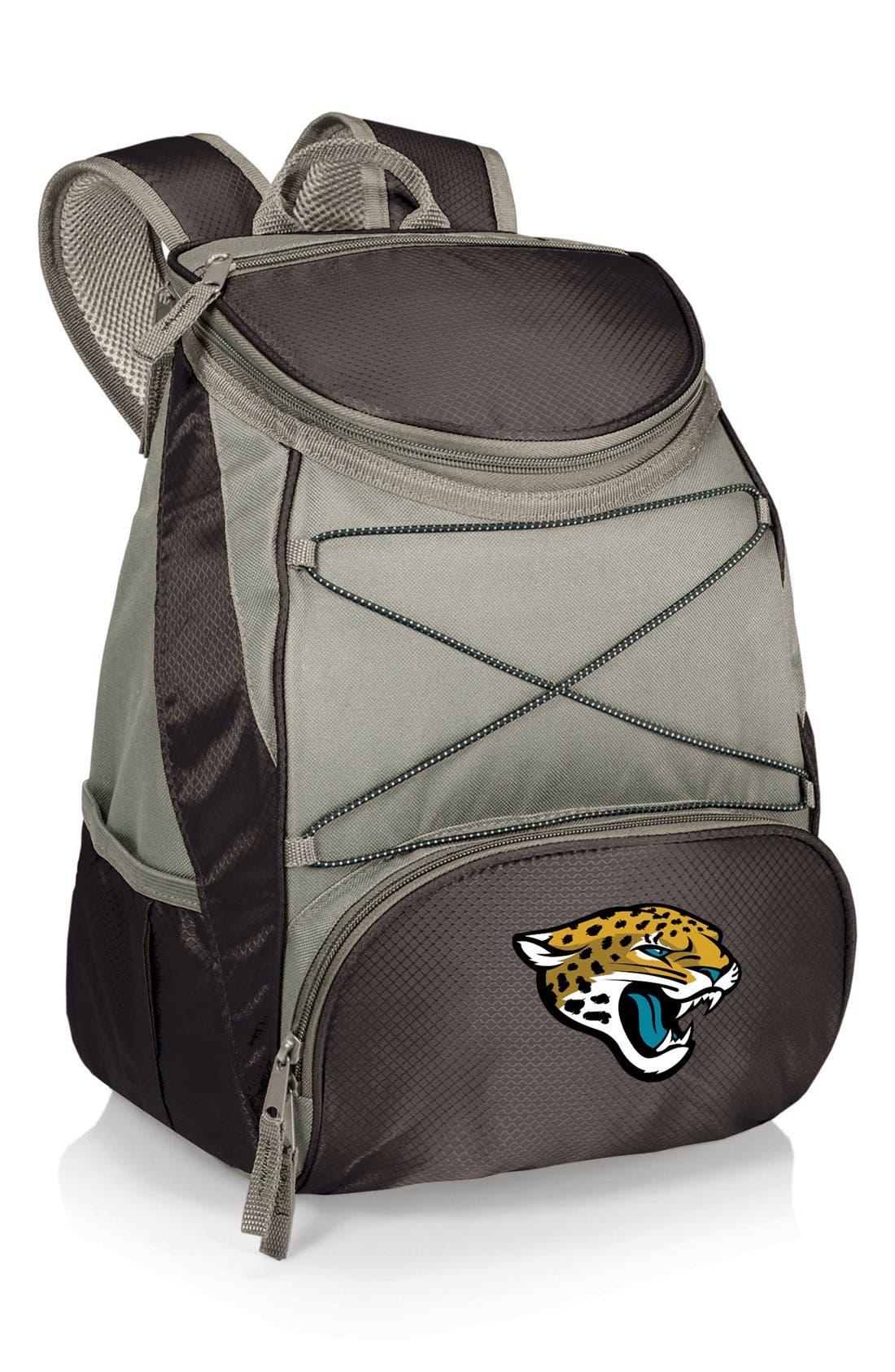 'PTX' Water Resistant Backpack Cooler,                             Main thumbnail 1, color,                             Jacksonville Jaguars
