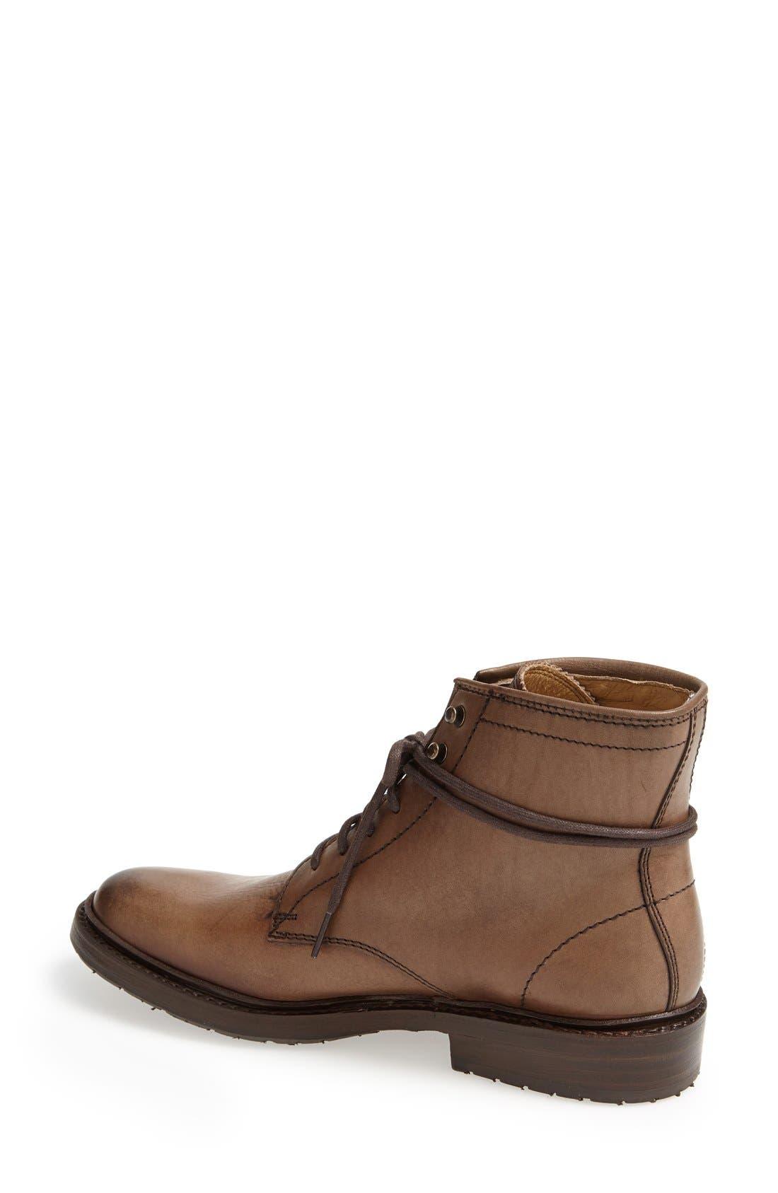 Alternate Image 2  - Frye 'James' Lug Lace-Up Boot (Women)