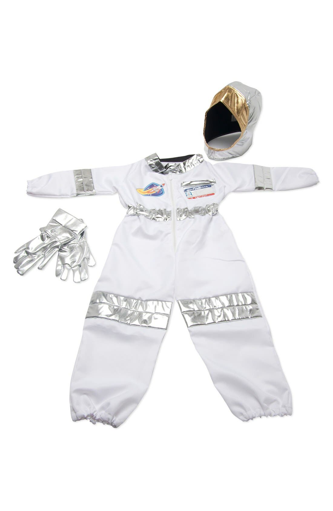 Astronaut Role Play Set,                             Alternate thumbnail 3, color,                             Metallic Silver