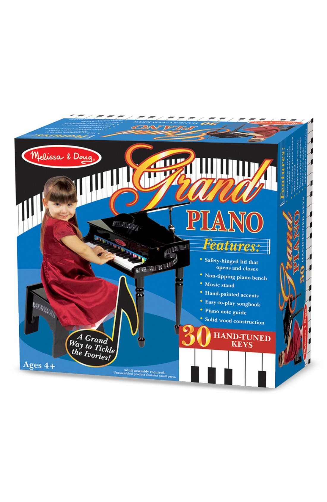 Alternate Image 2  - Melissa & Doug Grand Piano