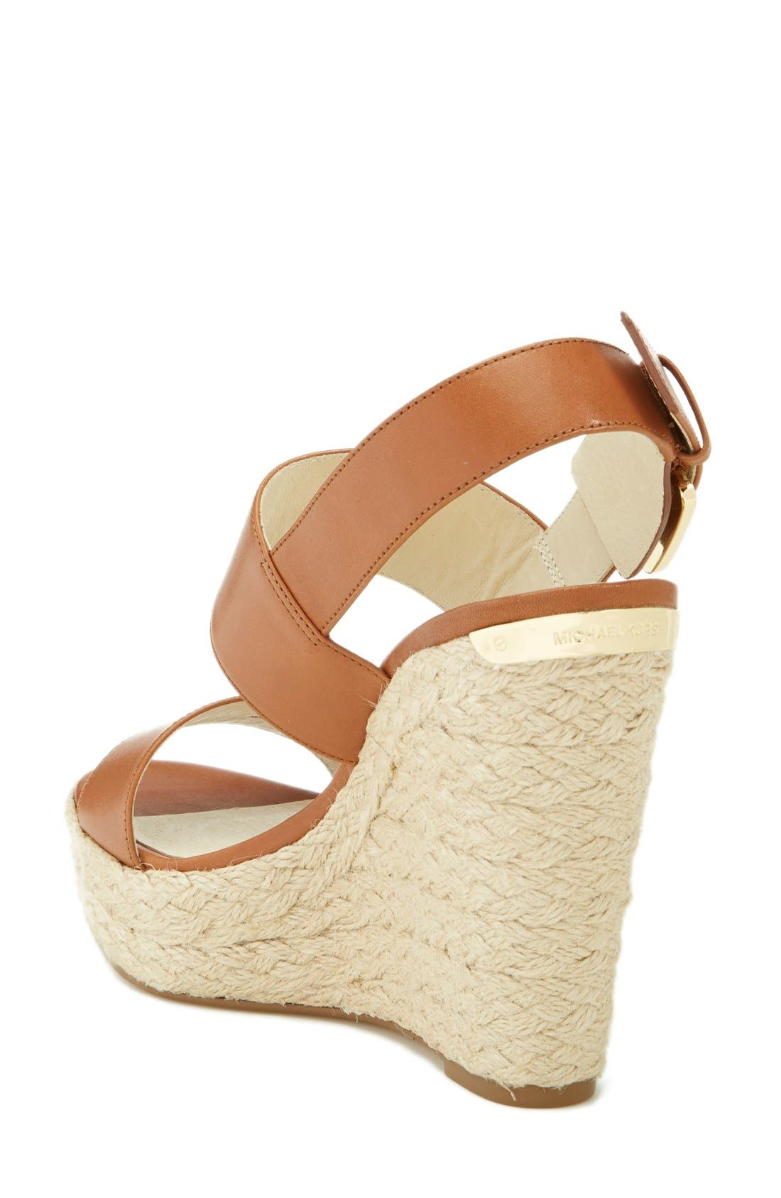 Alternate Image 2  - MICHAEL Michael Kors 'Posey' Espadrille Wedge Sandal (Women)