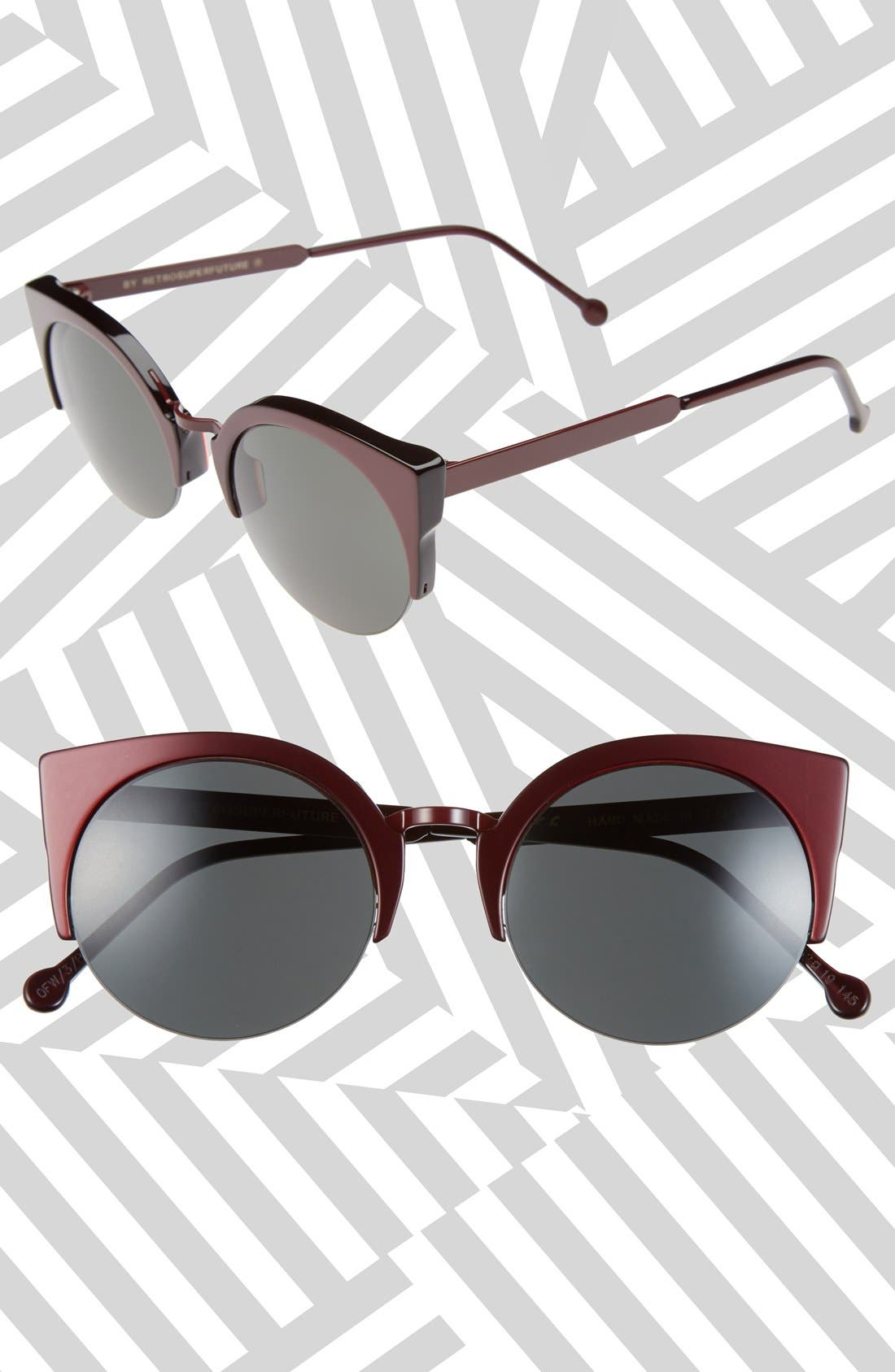 Alternate Image 1 Selected - SUPER by RETROSUPERFUTURE® 'Lucia Francis Femmena' 52mm Sunglasses