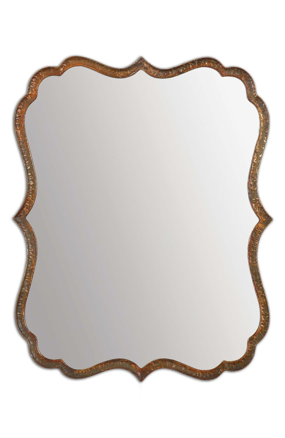 Uttermost 'Spadola' Hammered Copper Mirror