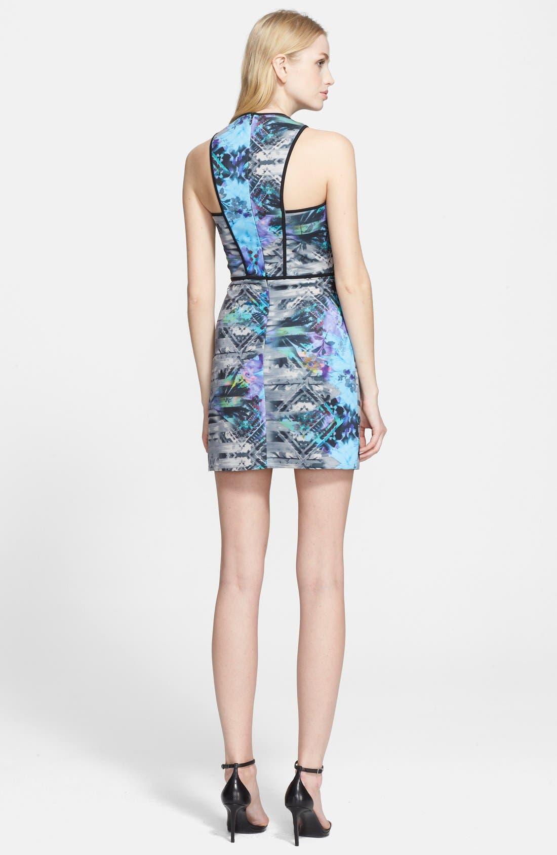 Alternate Image 2  - Parker 'Tobias' Asymmetrical Body-Con Dress