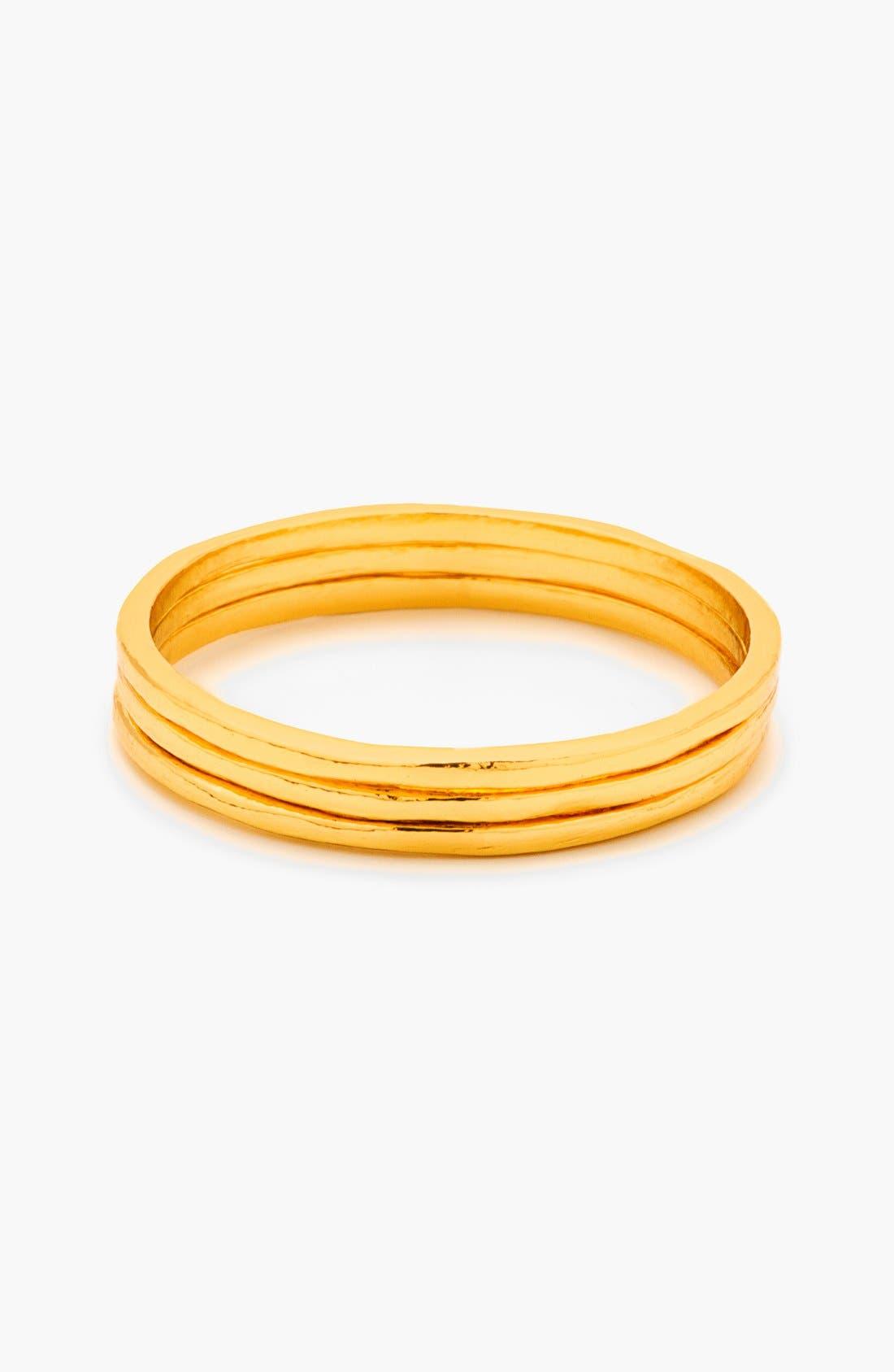 Alternate Image 8  - gorjana 'G Ring' Rings (Set of 3)