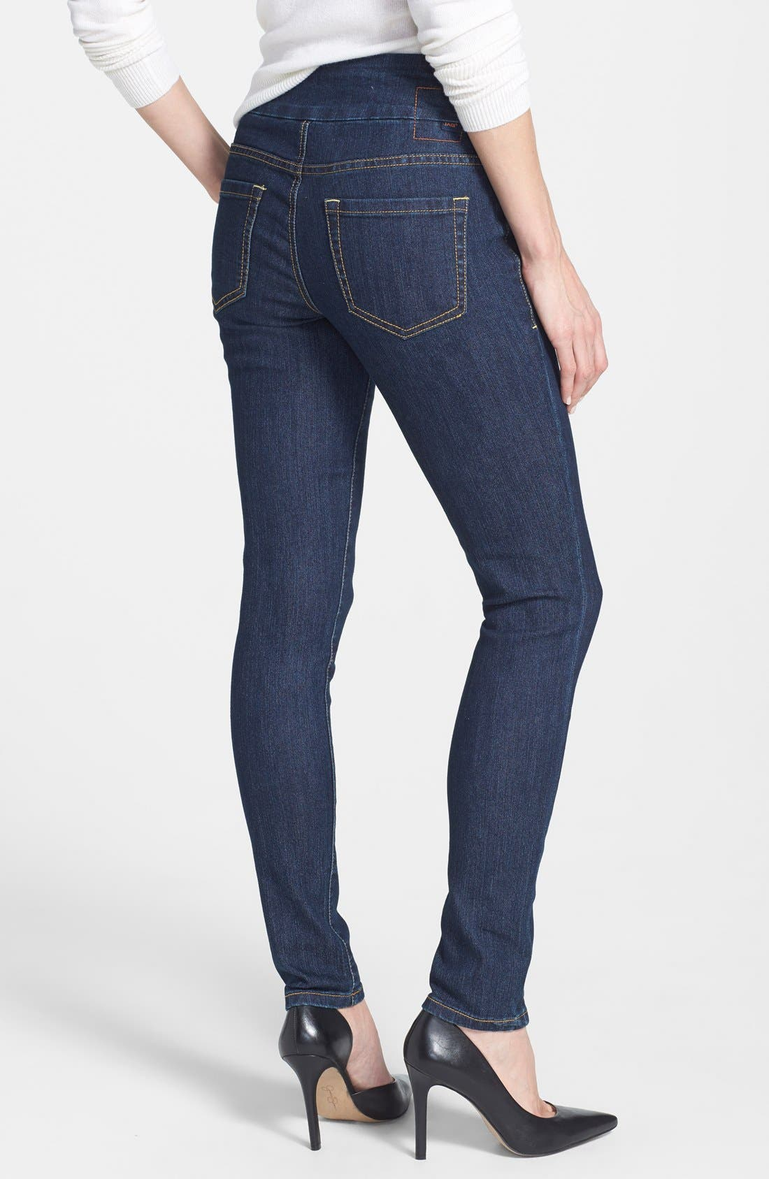 Alternate Image 2  - Jag Jeans 'Nora' Pull On Stretch Skinny Jeans