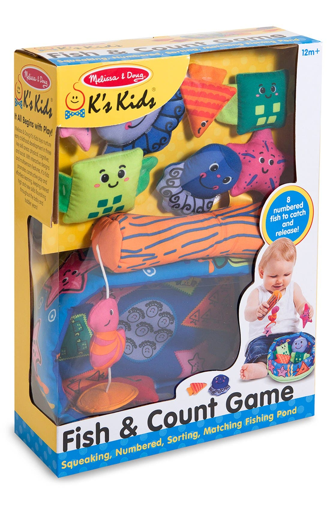 Alternate Image 2  - Melissa & Doug 'Fish & Count' Game