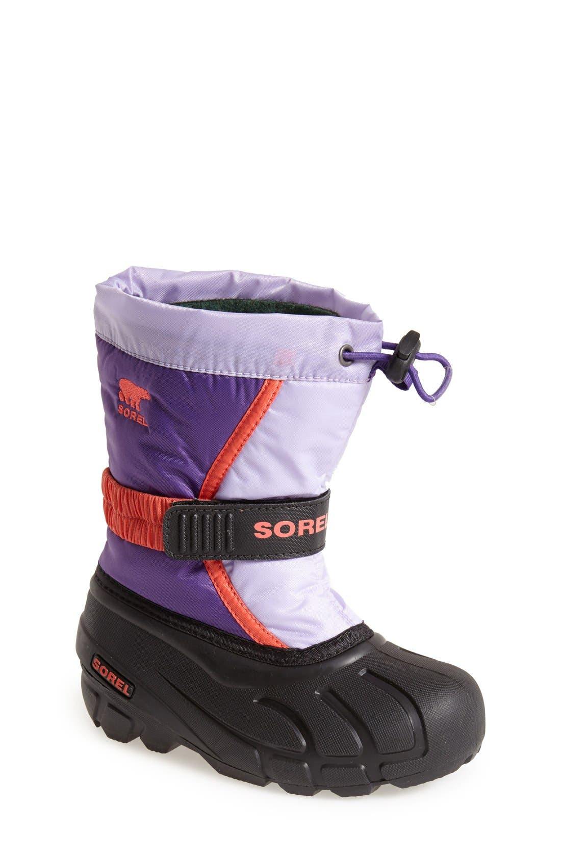 Alternate Image 1 Selected - Sorel 'Flurry' Boot (Toddler, Little Kid & Big Kid)