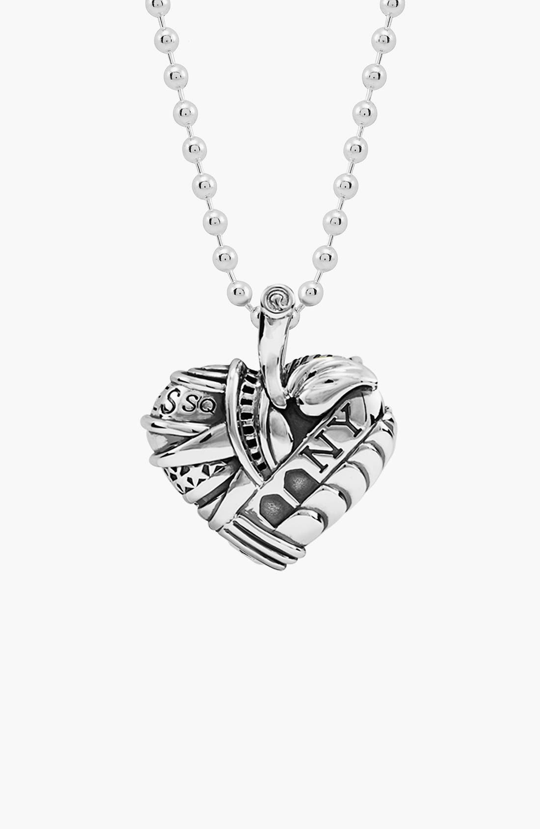 Alternate Image 1 Selected - LAGOS 'Hearts of LAGOS - New York' Reversible Pendant Necklace (Online Only)