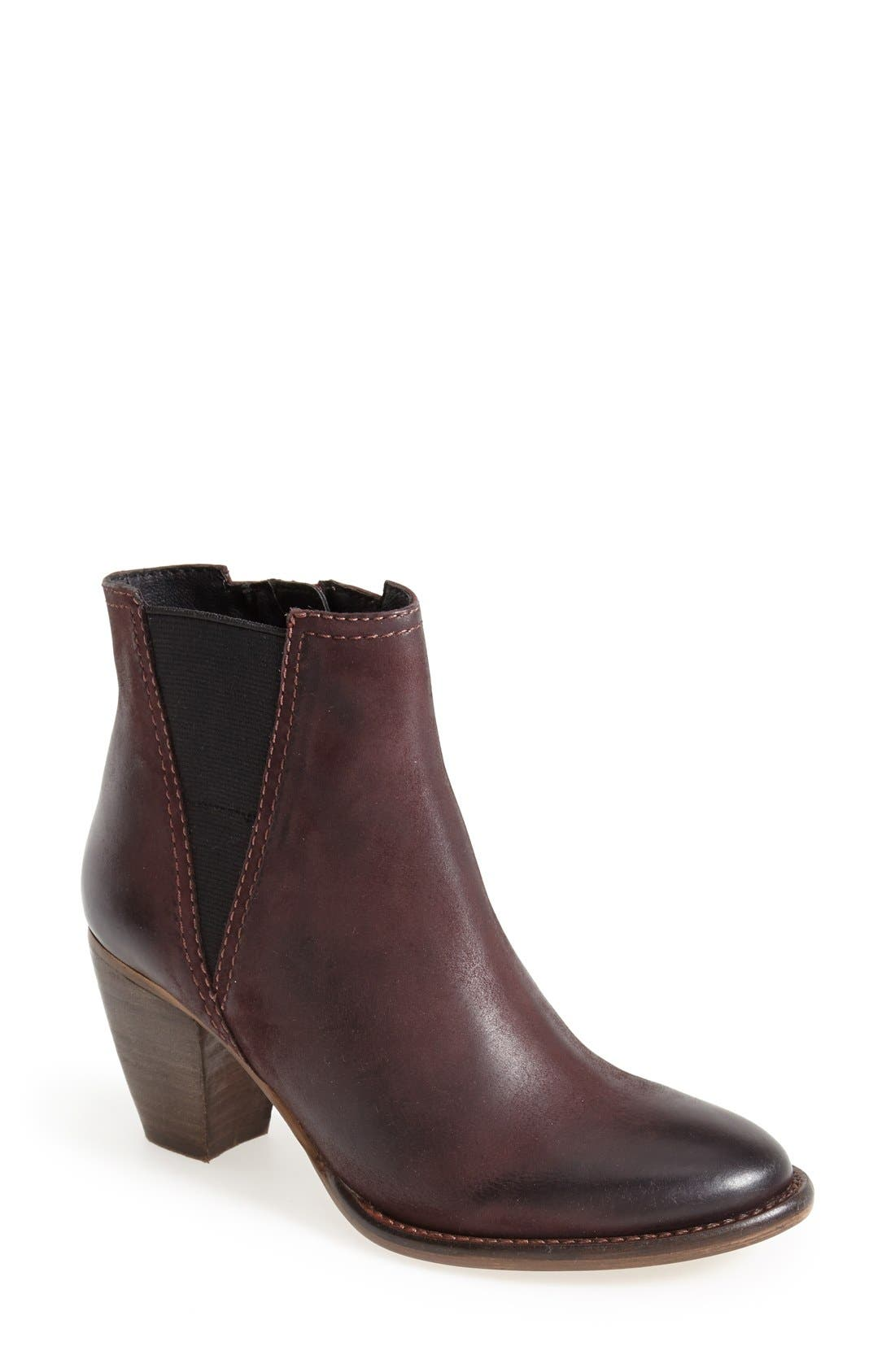 Alternate Image 1 Selected - Steve Madden 'Shearly' Leather Bootie (Women)