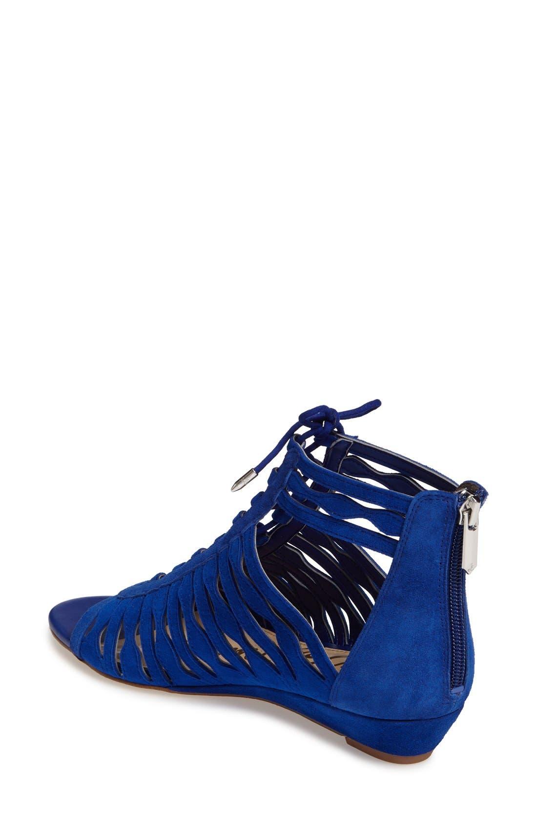 Alternate Image 2  - Sam Edelman Daleece Lace-Up Sandal (Women)