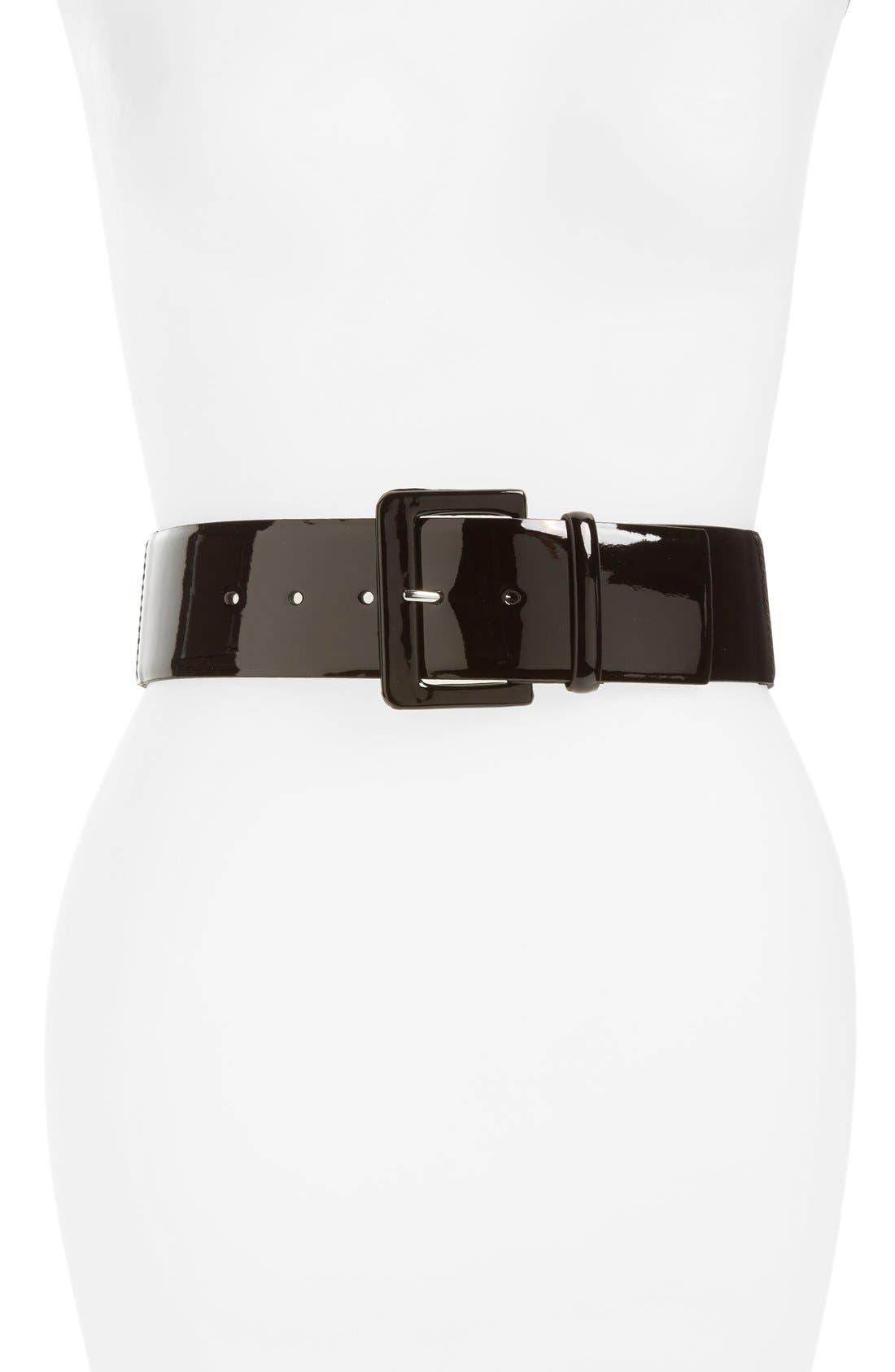 Alternate Image 1 Selected - Halogen® Stretch Belt