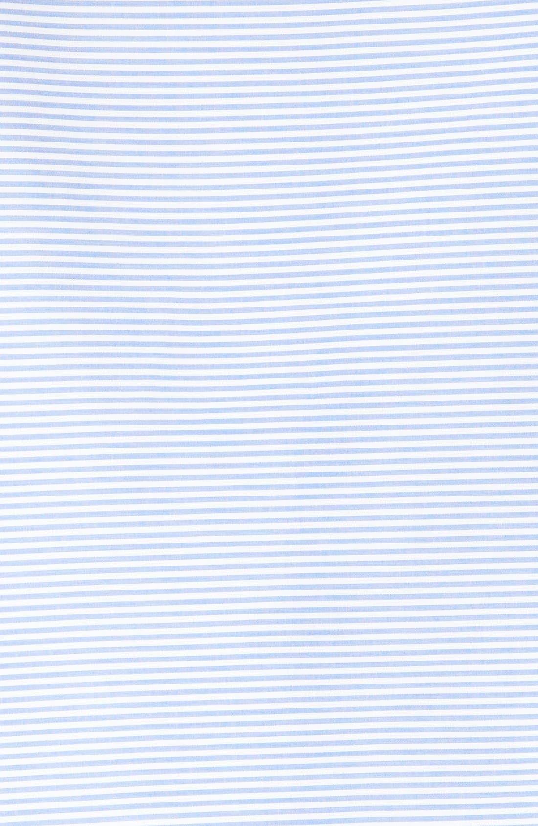 Alternate Image 6  - Tibi Elliot Stripe Bell Sleeve Top